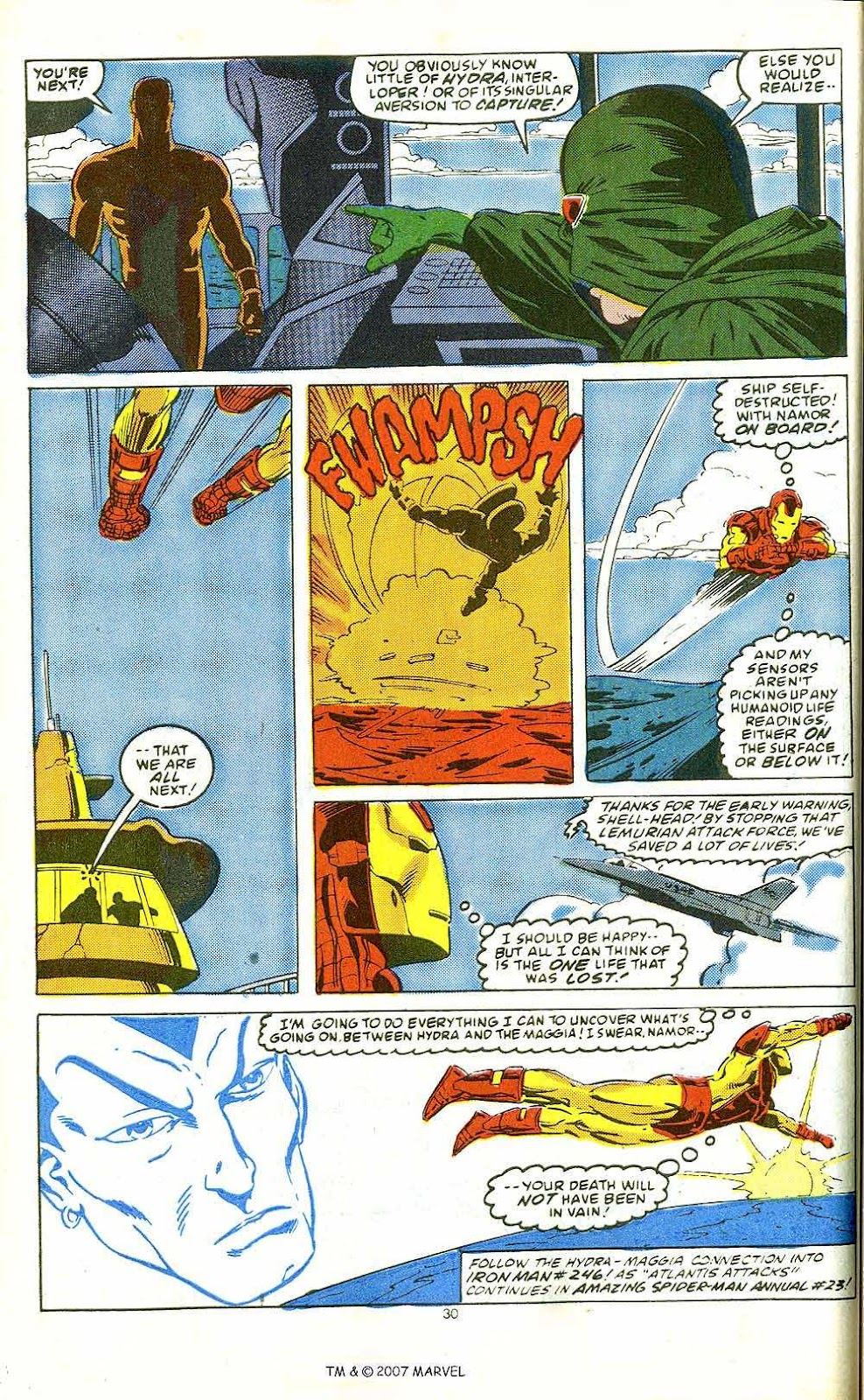 Iron Man Annual issue 10 - Page 32