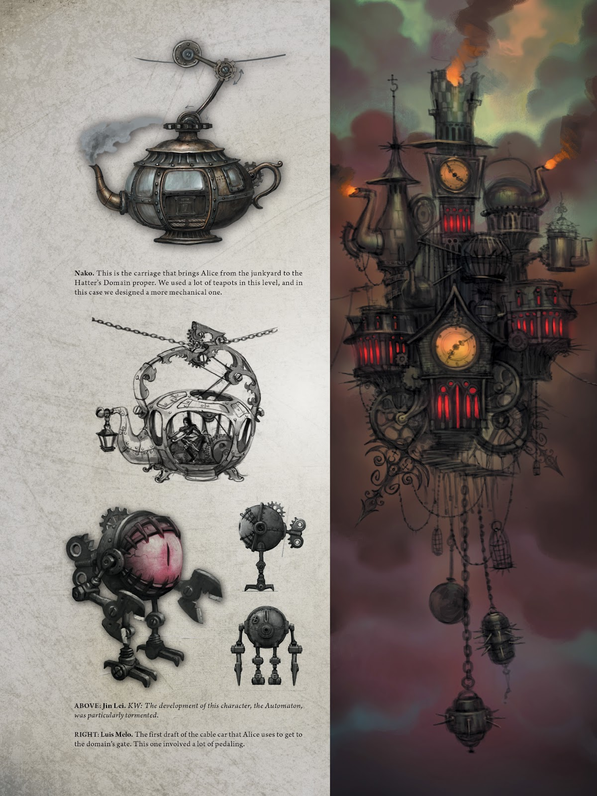 Read online The Art of Alice: Madness Returns comic -  Issue # TPB (Part 1) - 83