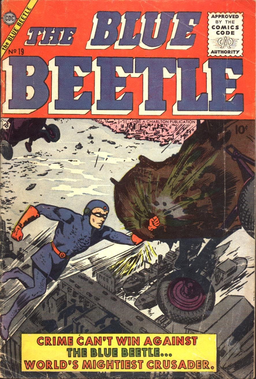 Blue Beetle (1955) 19 Page 1