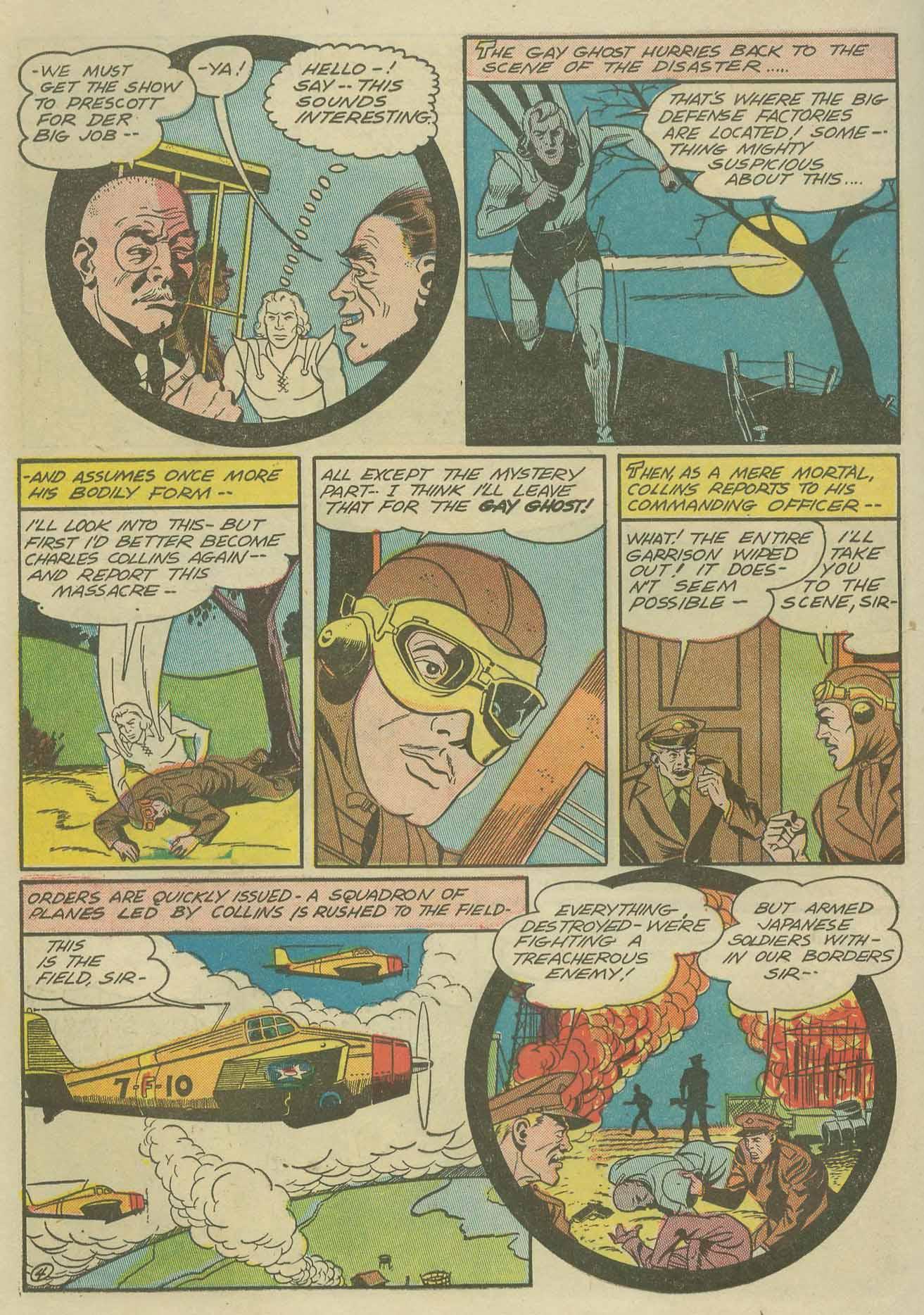 Read online Sensation (Mystery) Comics comic -  Issue #9 - 40