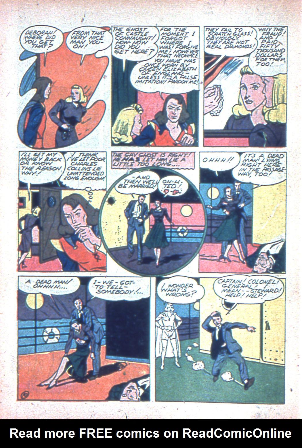 Read online Sensation (Mystery) Comics comic -  Issue #2 - 42