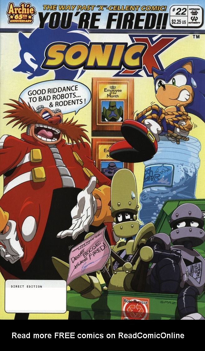 Read online Sonic X comic -  Issue #22 - 1