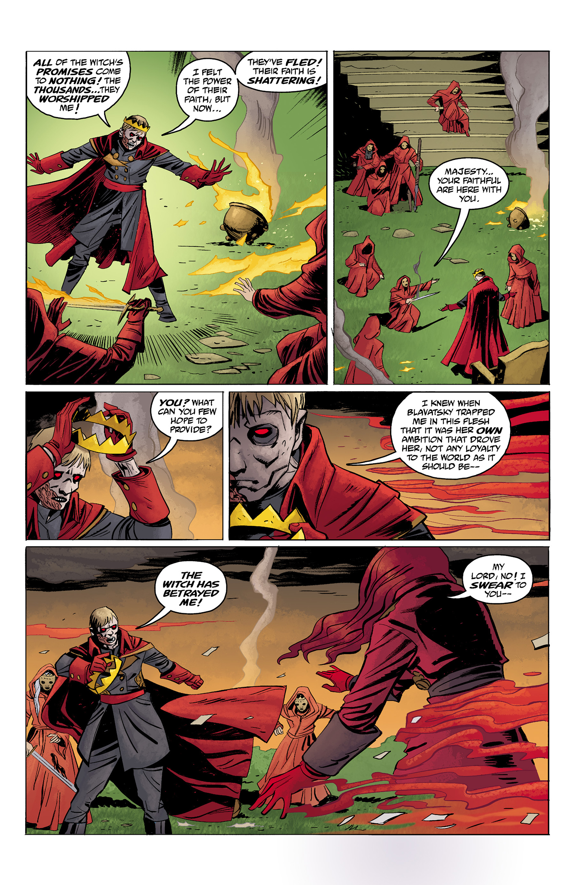 Read online Baltimore: The Red Kingdom comic -  Issue #5 - 10