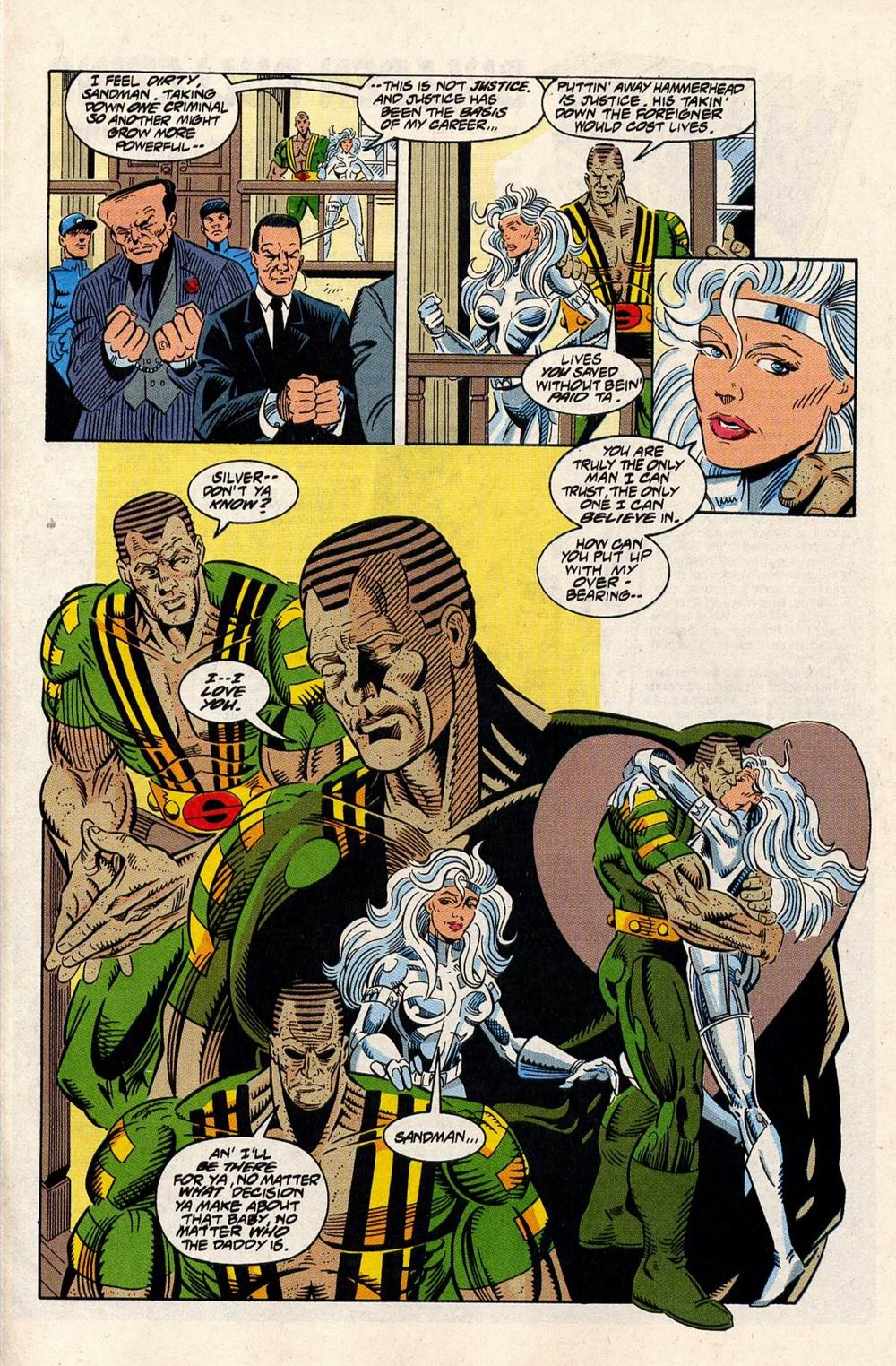 Read online Silver Sable and the Wild Pack comic -  Issue #33 - 18