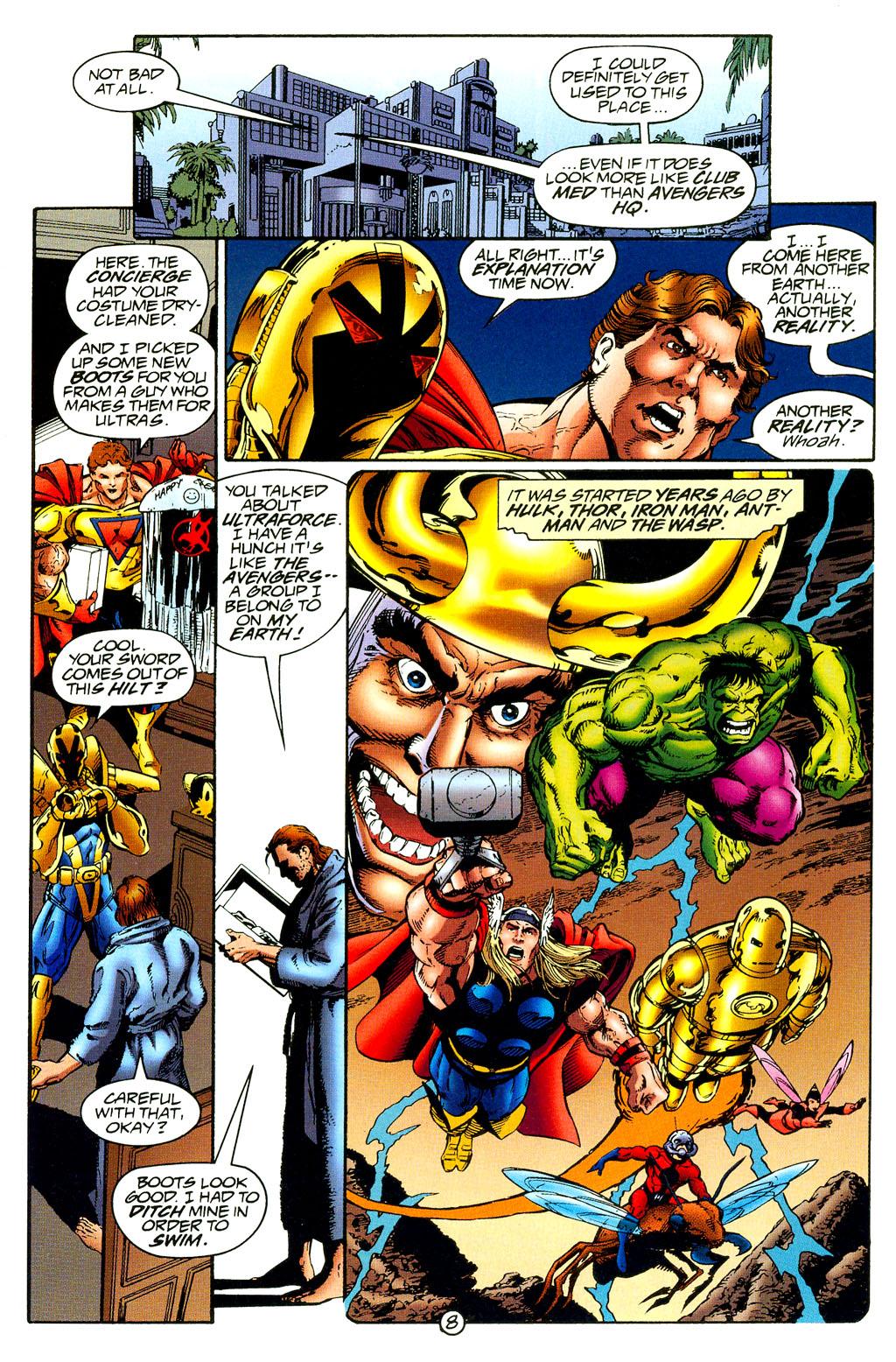 Read online UltraForce (1994) comic -  Issue #8 - 8