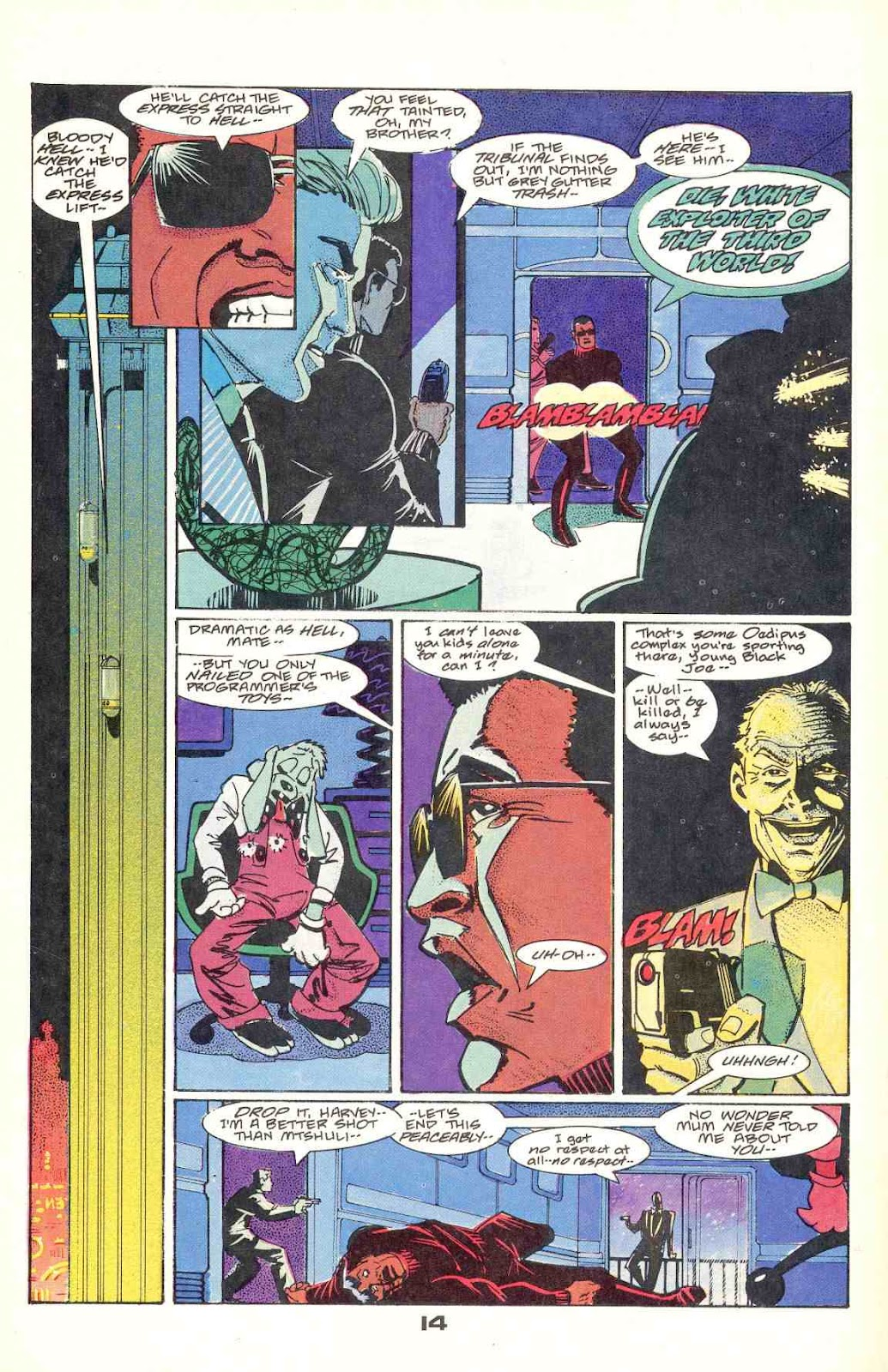Howard Chaykin's American Flagg issue 12 - Page 18