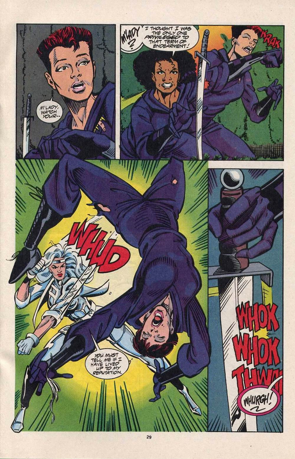Read online Silver Sable and the Wild Pack comic -  Issue #28 - 22