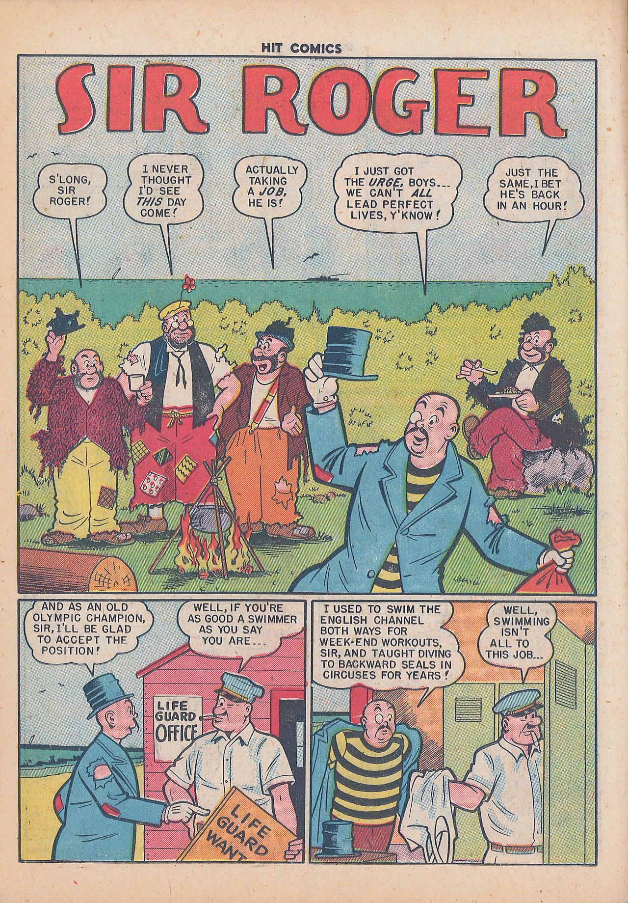 Read online Hit Comics comic -  Issue #64 - 16