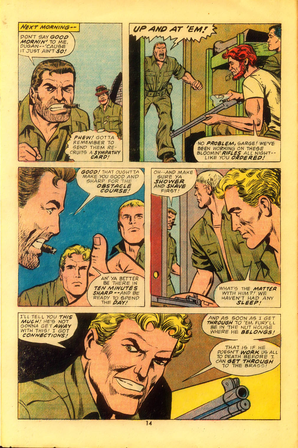 Read online Sgt. Fury comic -  Issue #116 - 16