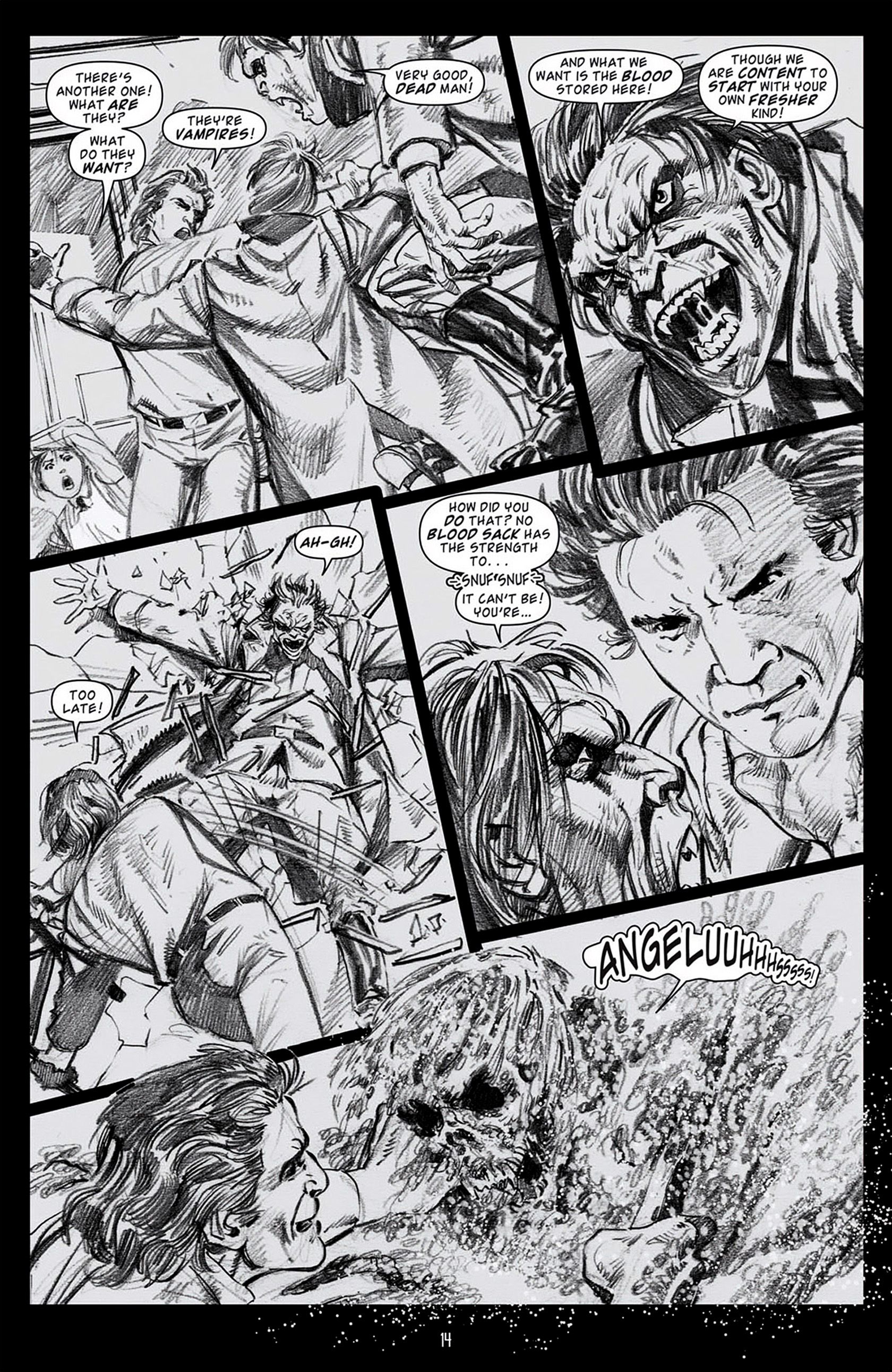 Read online Angel: Blood & Trenches comic -  Issue #1 - 17