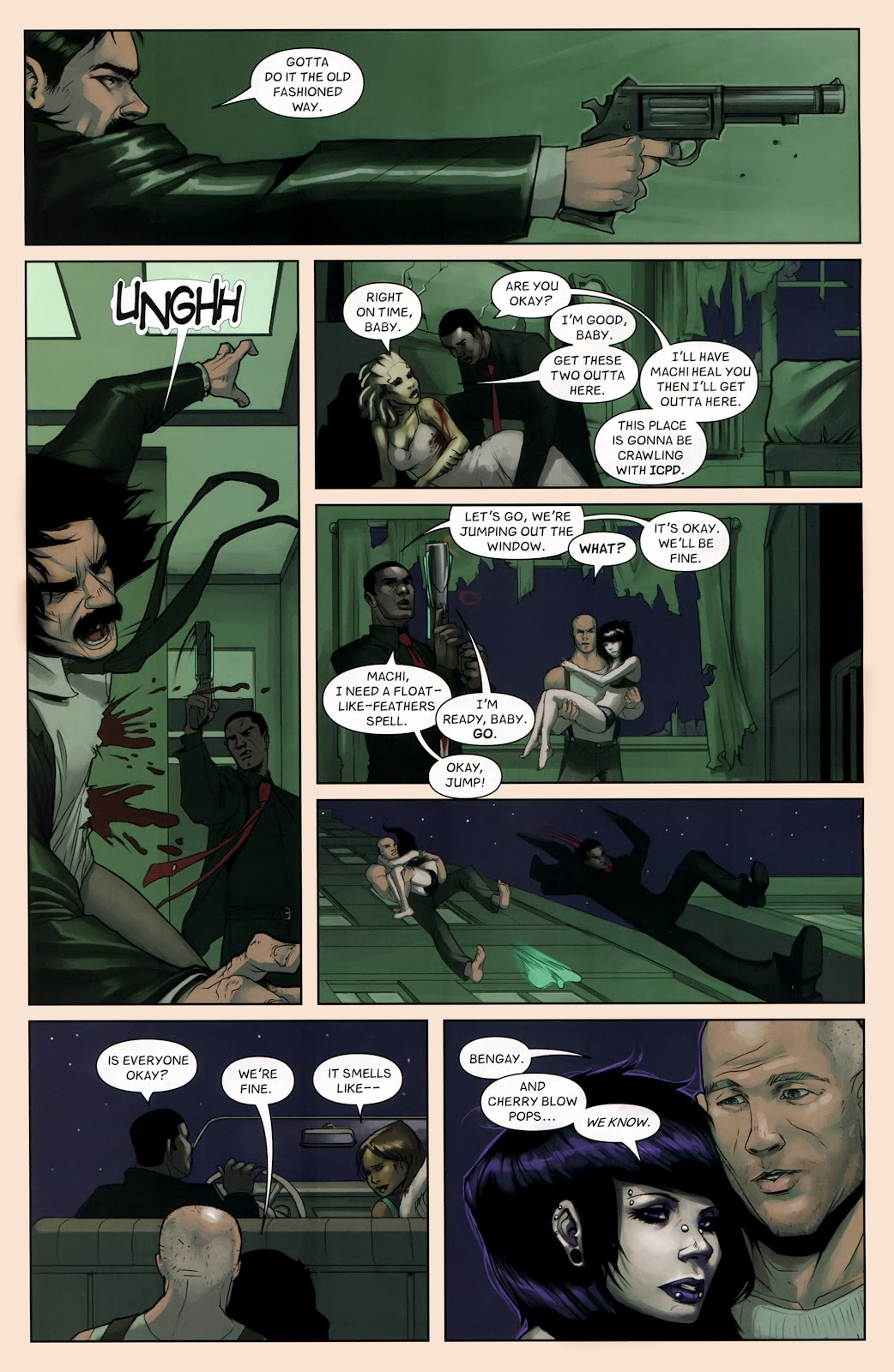 Read online Vescell comic -  Issue #7 - 21