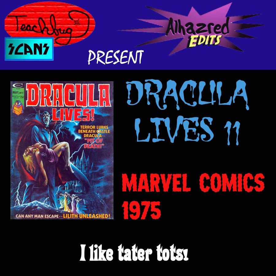 Dracula Lives 11 Page 1