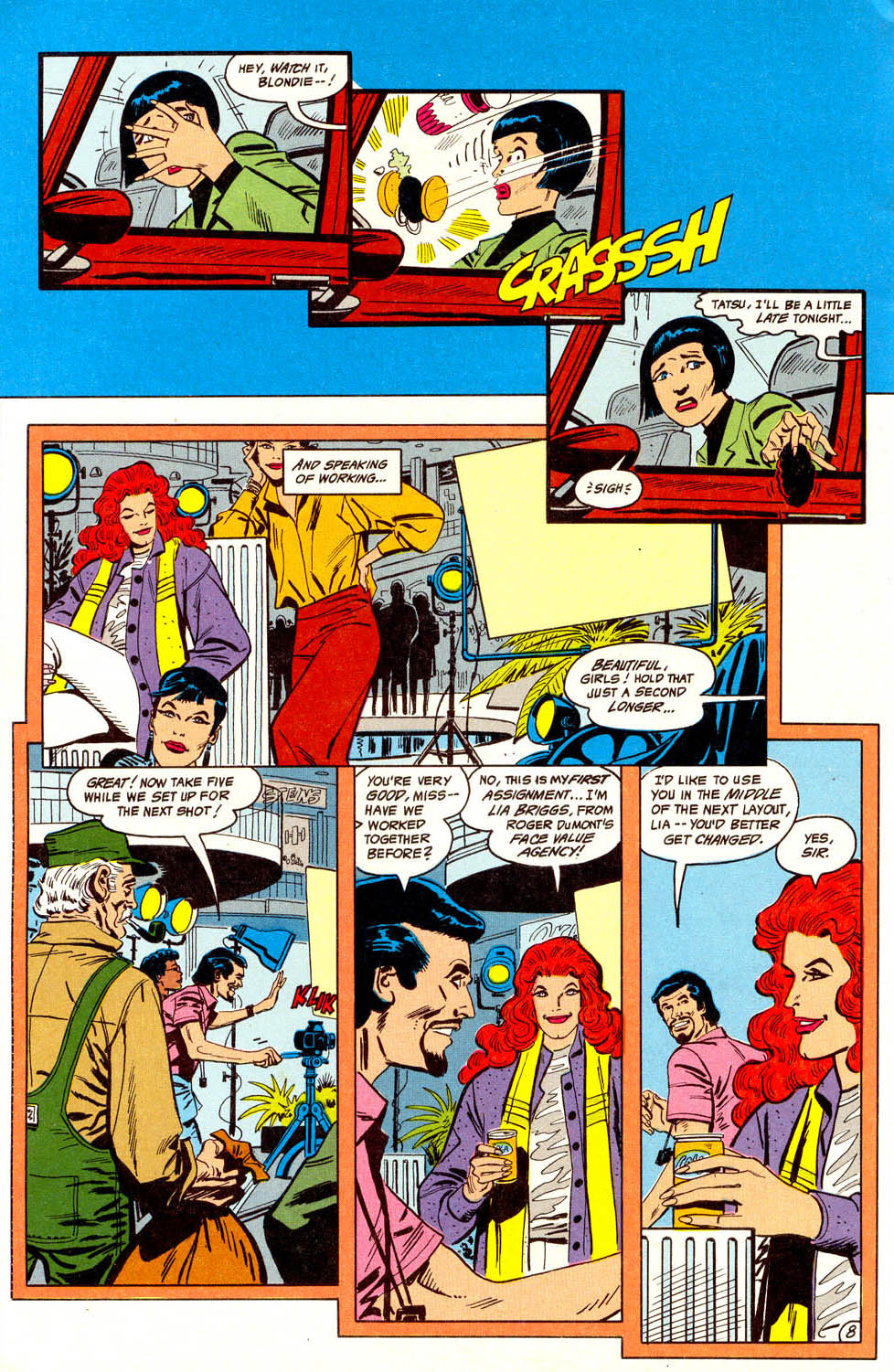 Read online Adventures of the Outsiders comic -  Issue #44 - 9
