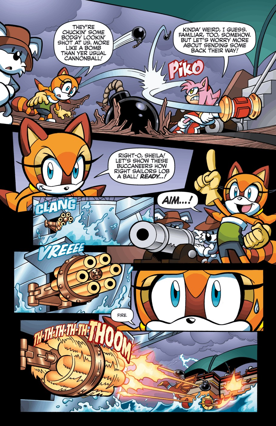 Read online Sonic Universe comic -  Issue #55 - 7