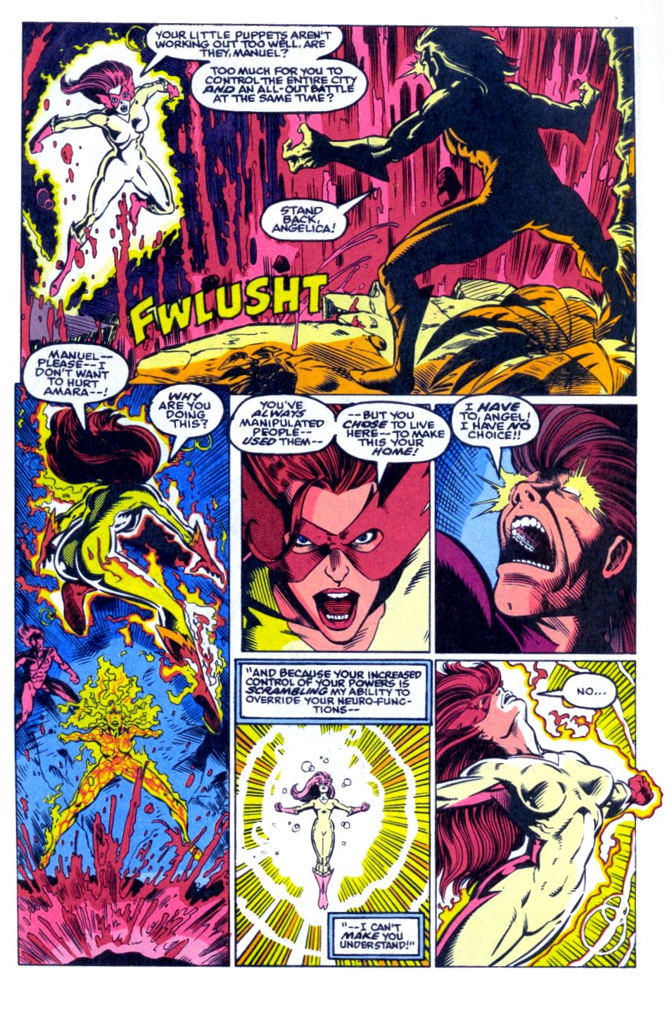 The New Warriors Issue #31 #35 - English 18