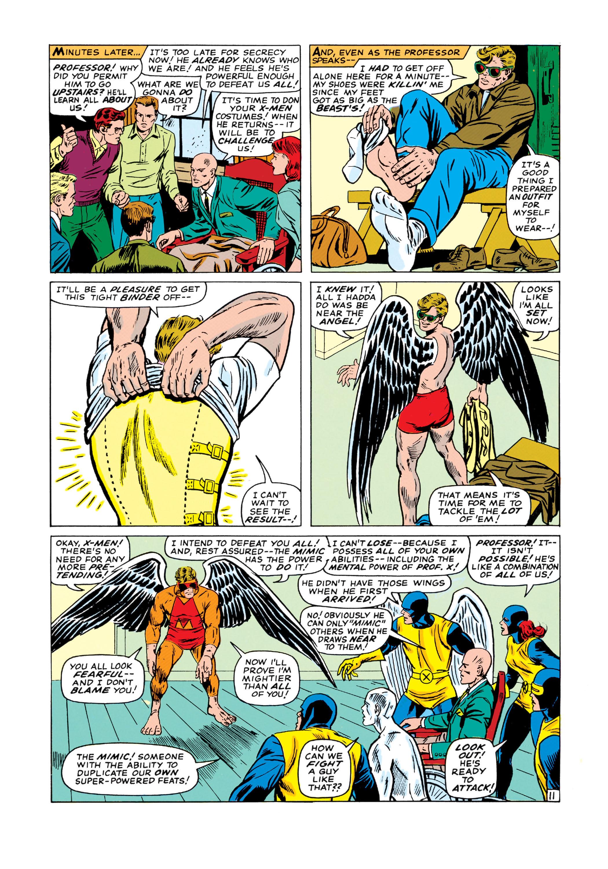 Read online Uncanny X-Men (1963) comic -  Issue #19 - 12