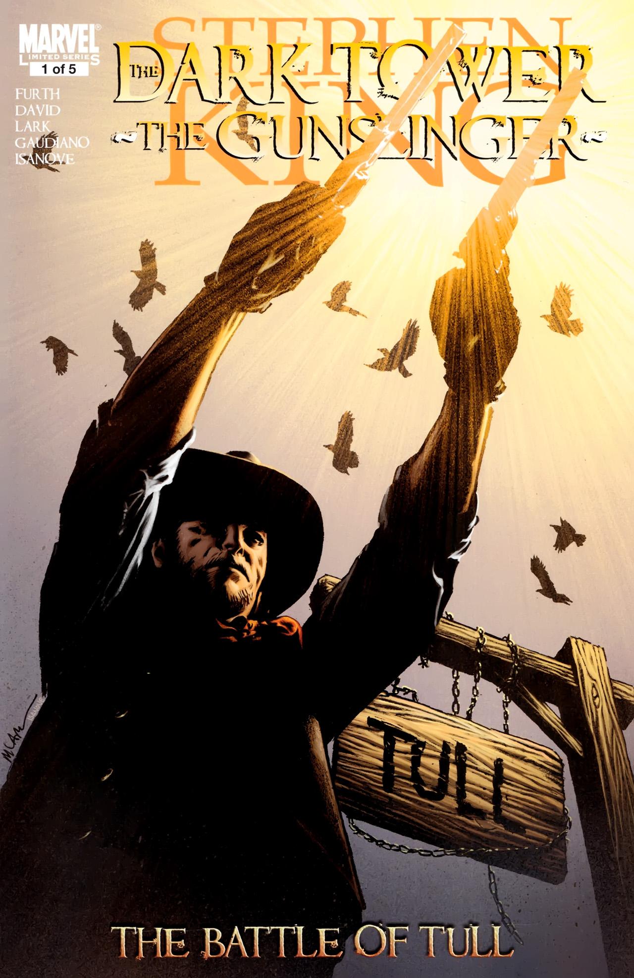 Read online Dark Tower: The Gunslinger - The Battle of Tull comic -  Issue #1 - 1