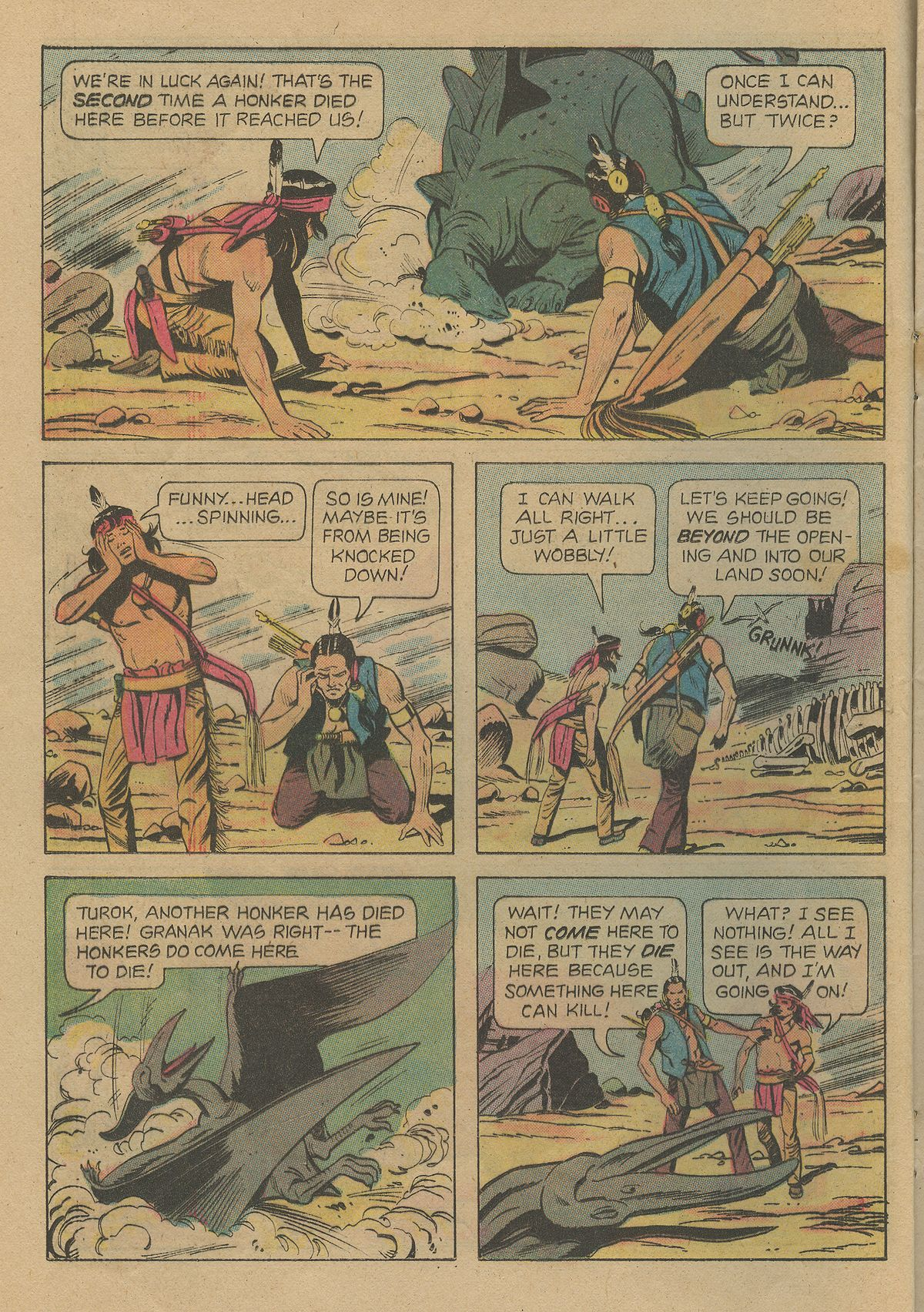 Read online Turok, Son of Stone comic -  Issue #103 - 12