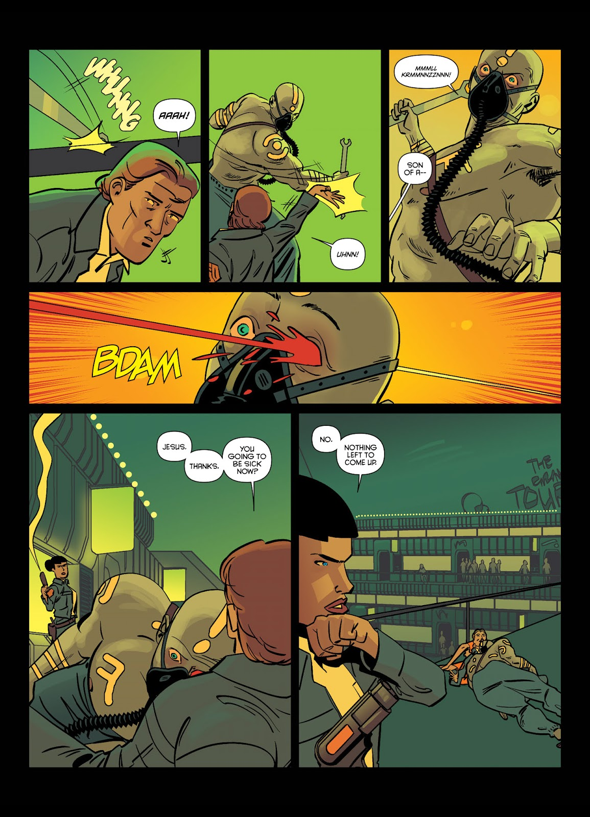 Read online Brink comic -  Issue # TPB 1 - 10