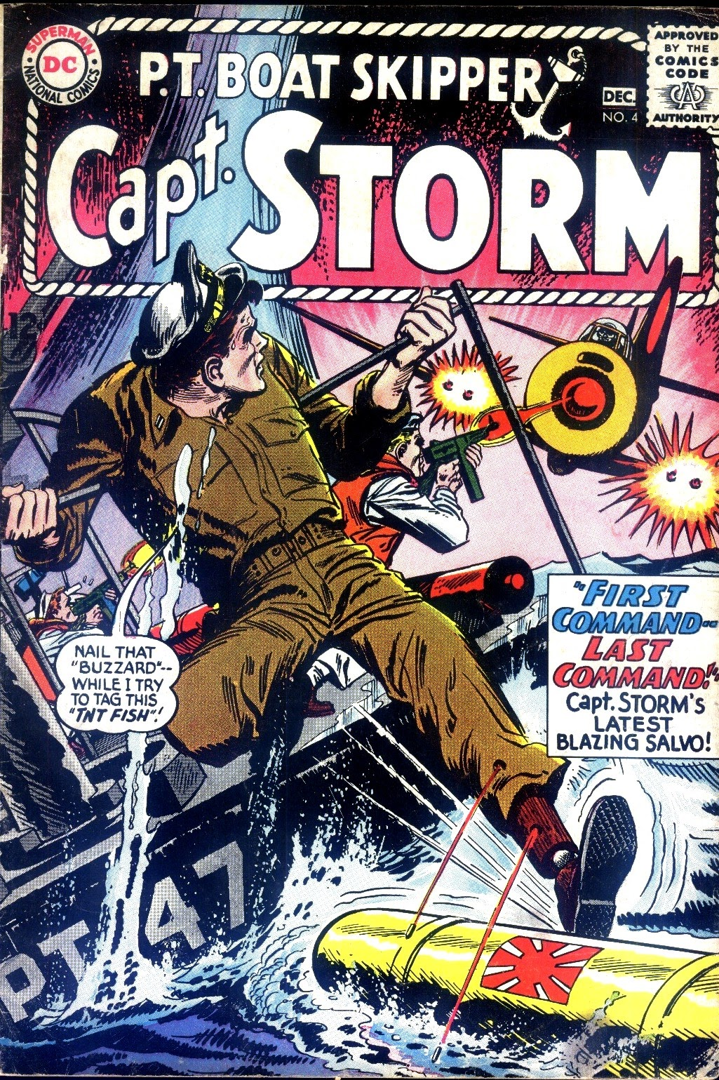 Capt. Storm issue 4 - Page 1