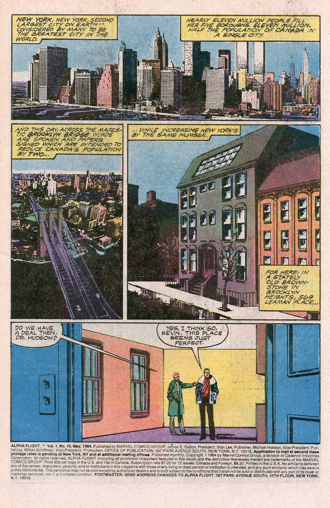 Read online Alpha Flight (1983) comic -  Issue #10 - 3
