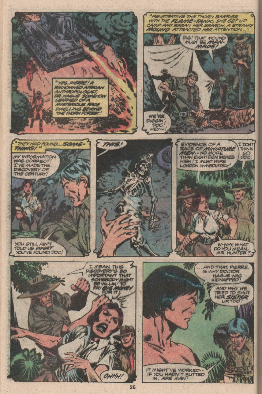 Read online Tarzan (1977) comic -  Issue # _Annual 3 - 21