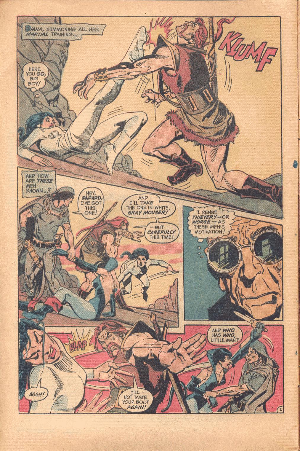 Read online Wonder Woman (1942) comic -  Issue #202 - 3