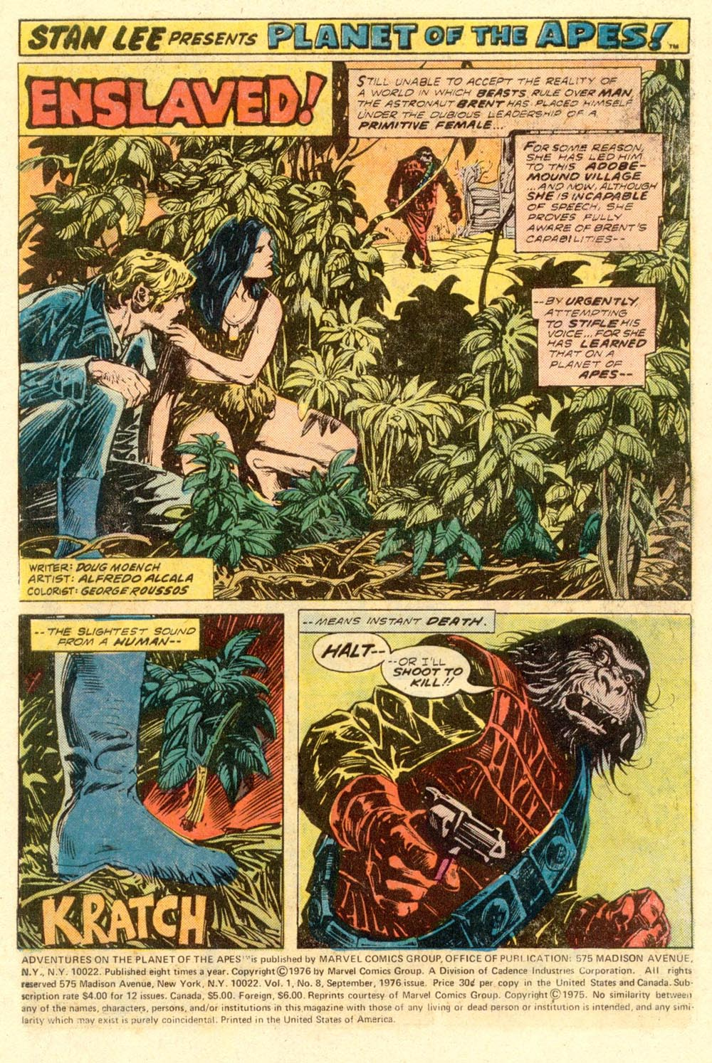 Read online Adventures on the Planet of the Apes comic -  Issue #8 - 2