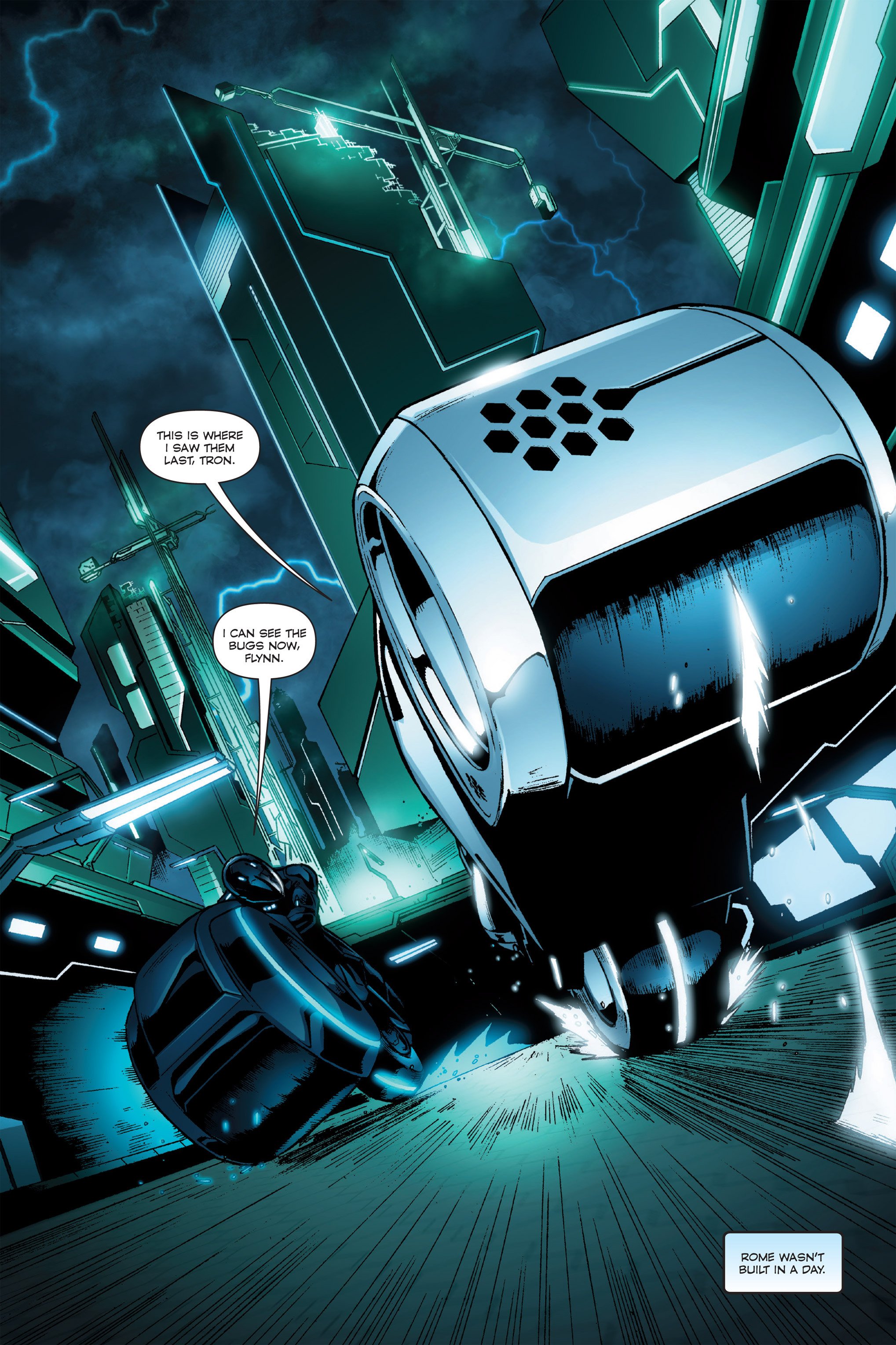 Read online TRON: Betrayal comic -  Issue # TPB - 14