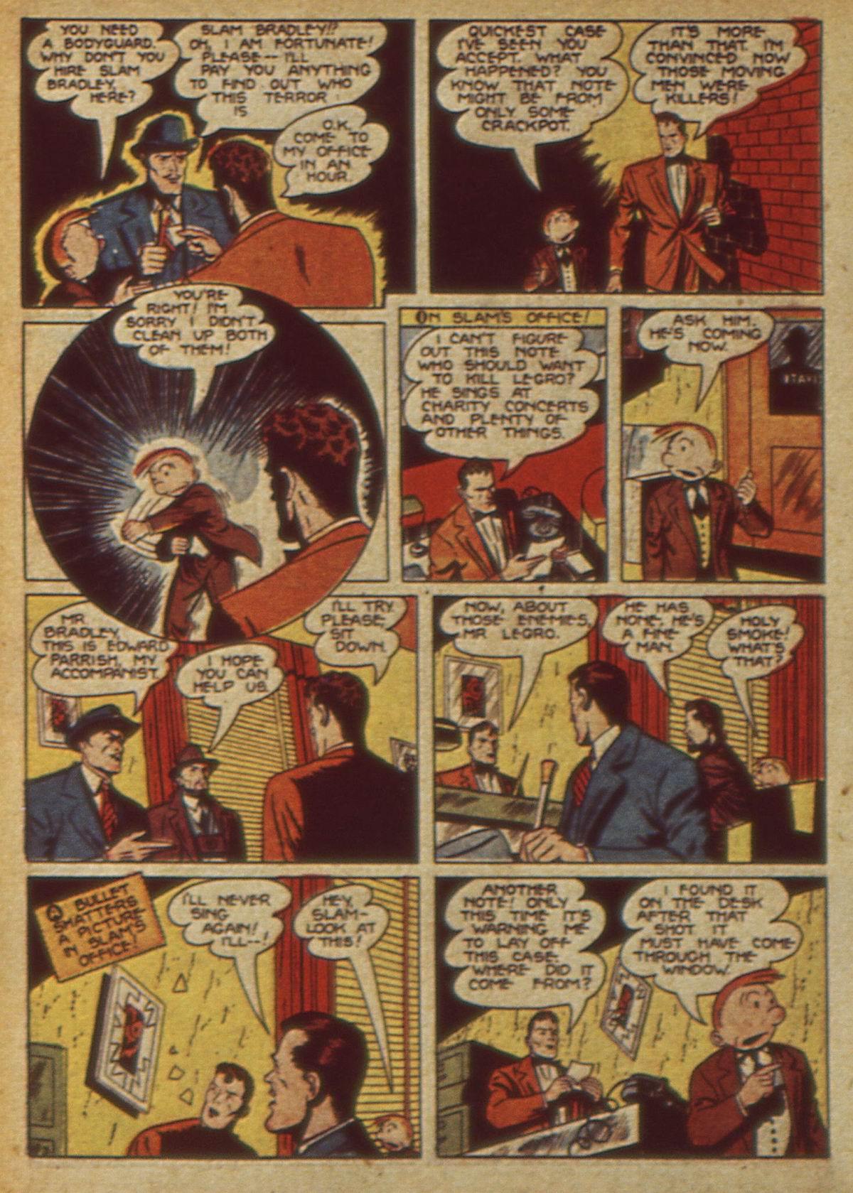 Read online Detective Comics (1937) comic -  Issue #49 - 60
