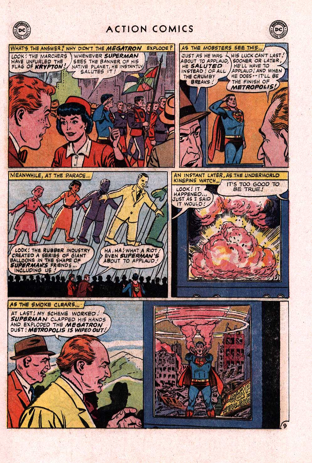 Read online Action Comics (1938) comic -  Issue #328 - 10