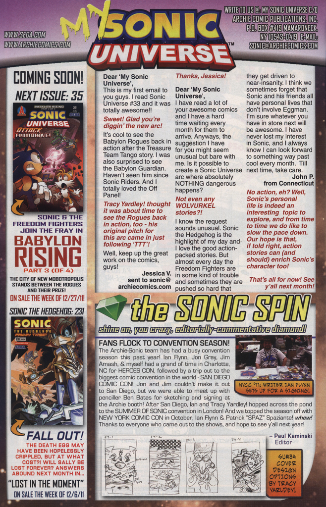 Read online Sonic Universe comic -  Issue #34 - 34