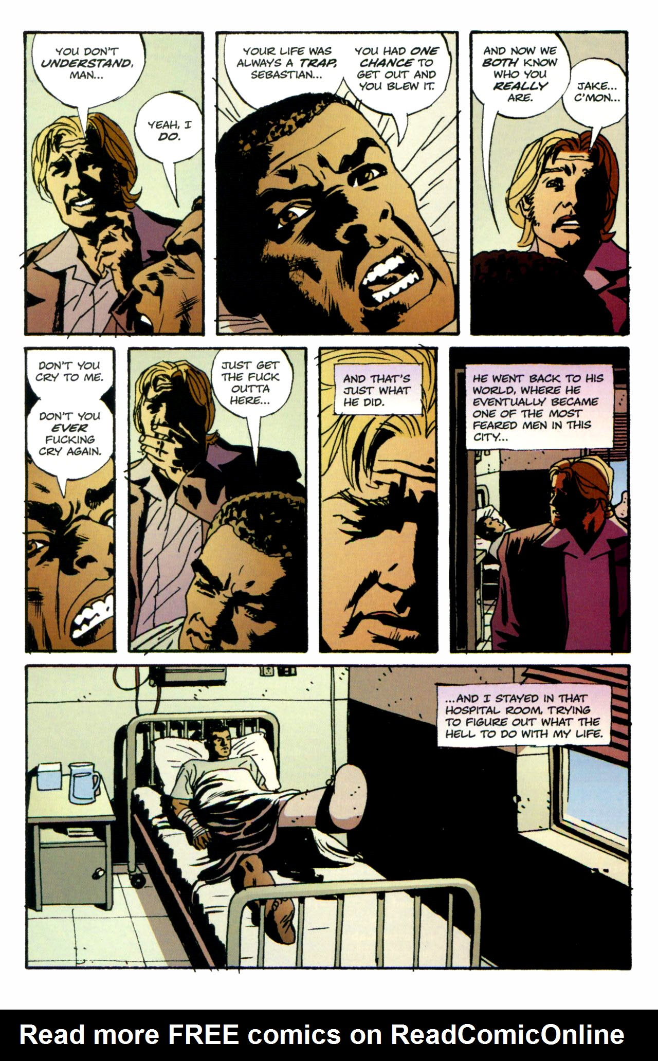 Read online Criminal (2008) comic -  Issue #1 - 32