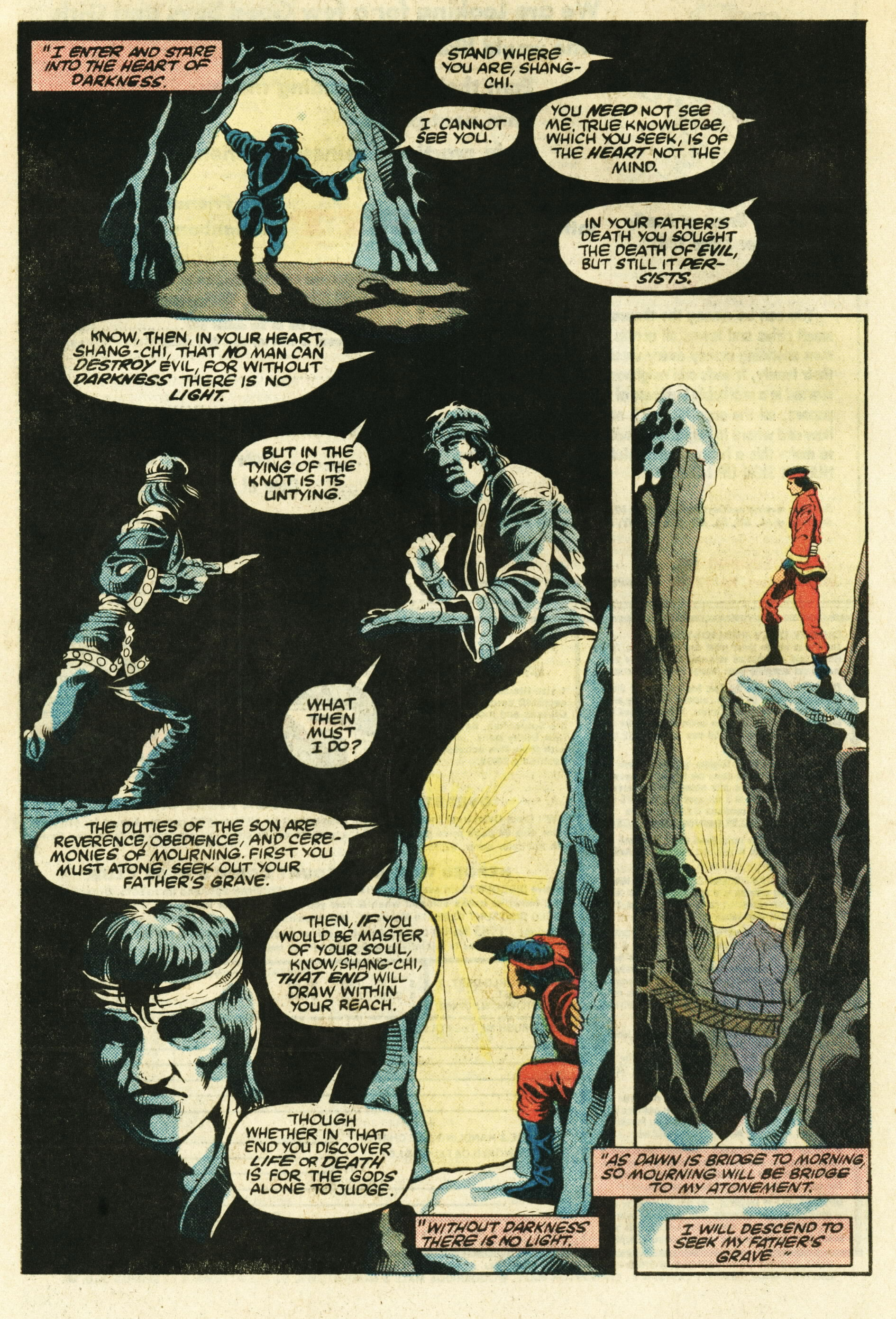 Read online Master of Kung Fu (1974) comic -  Issue #124 - 23