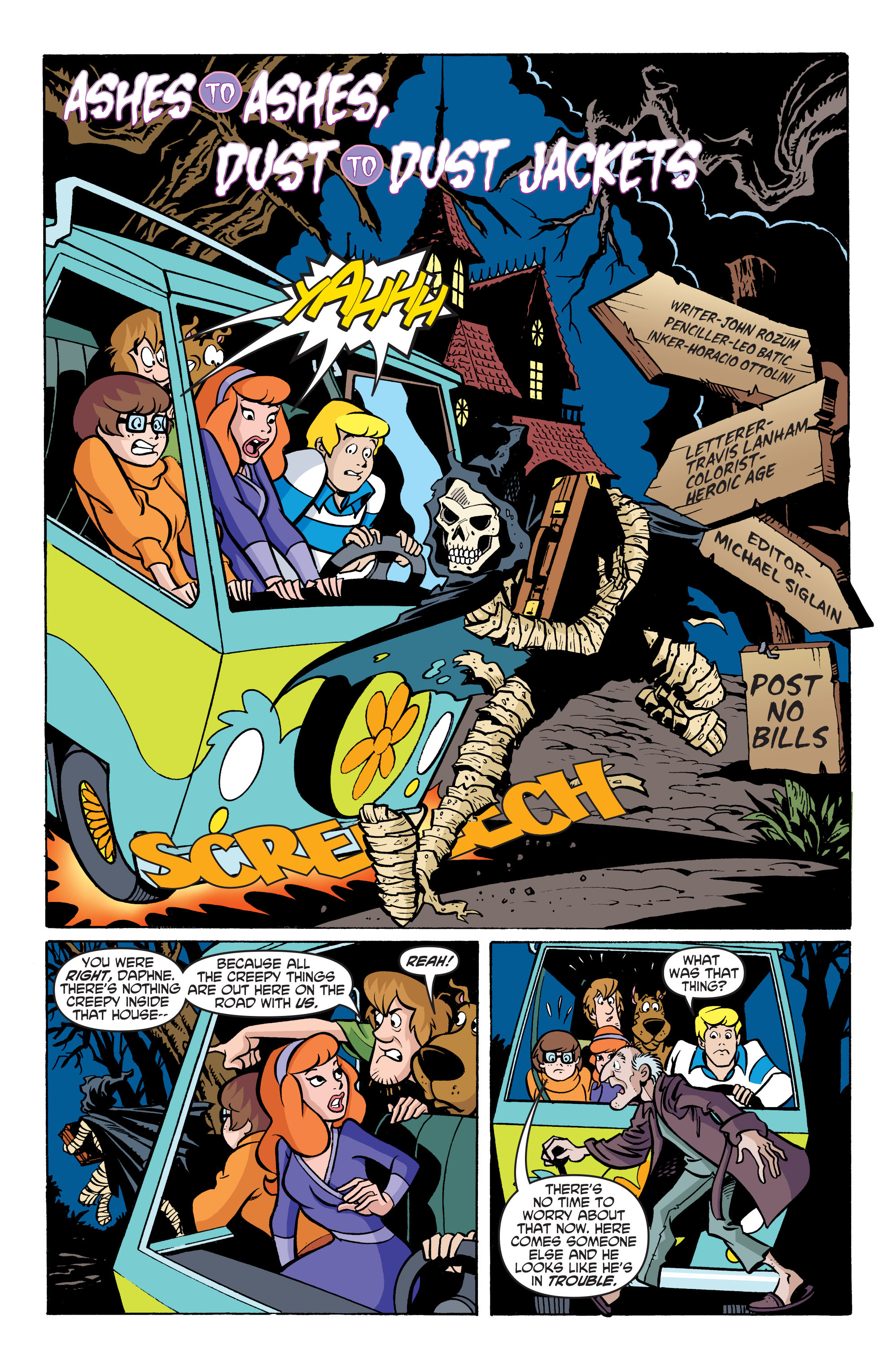 Read online Scooby-Doo: Where Are You? comic -  Issue #76 - 13