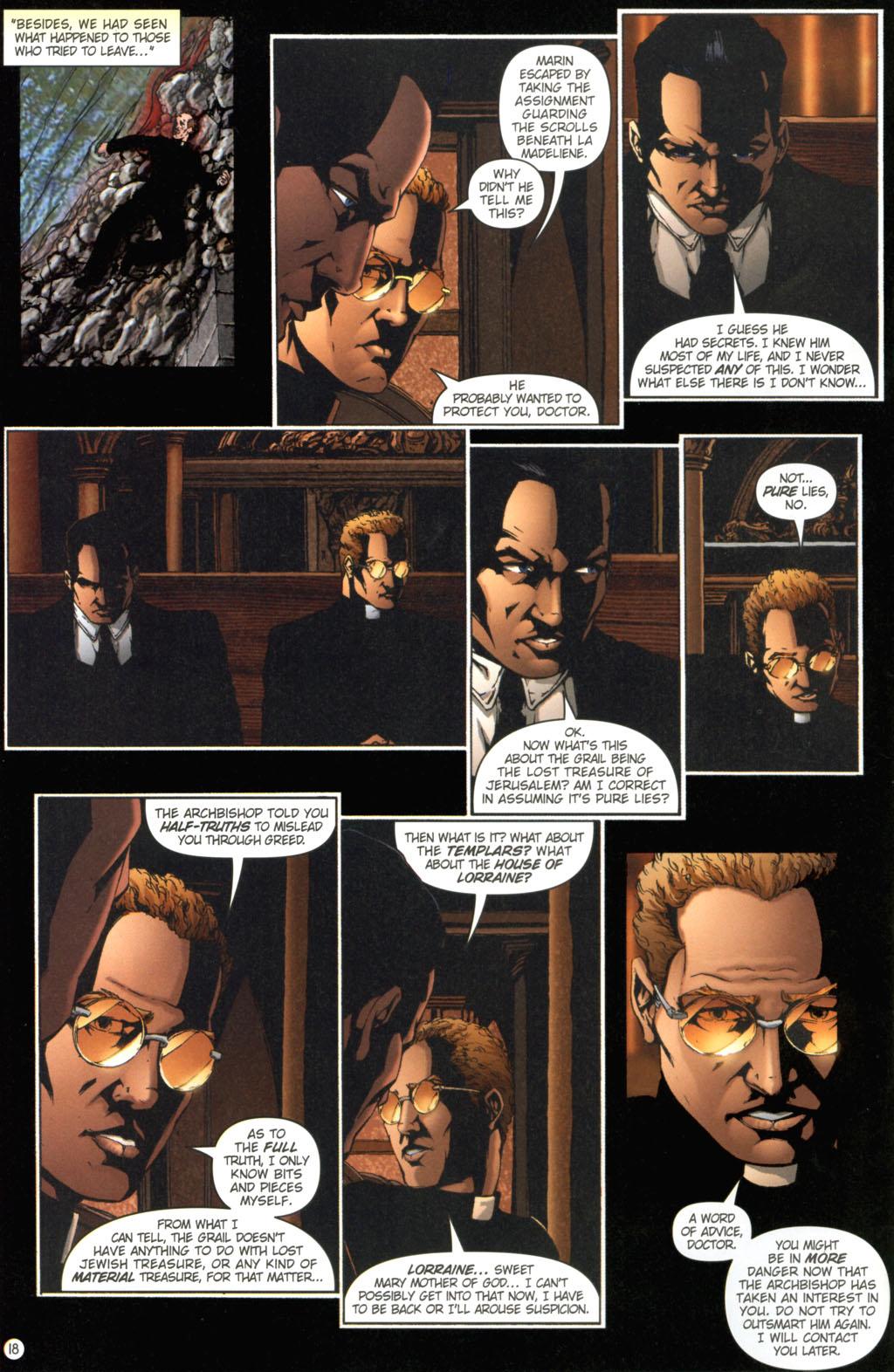 Read online Rex Mundi comic -  Issue #11 - 22