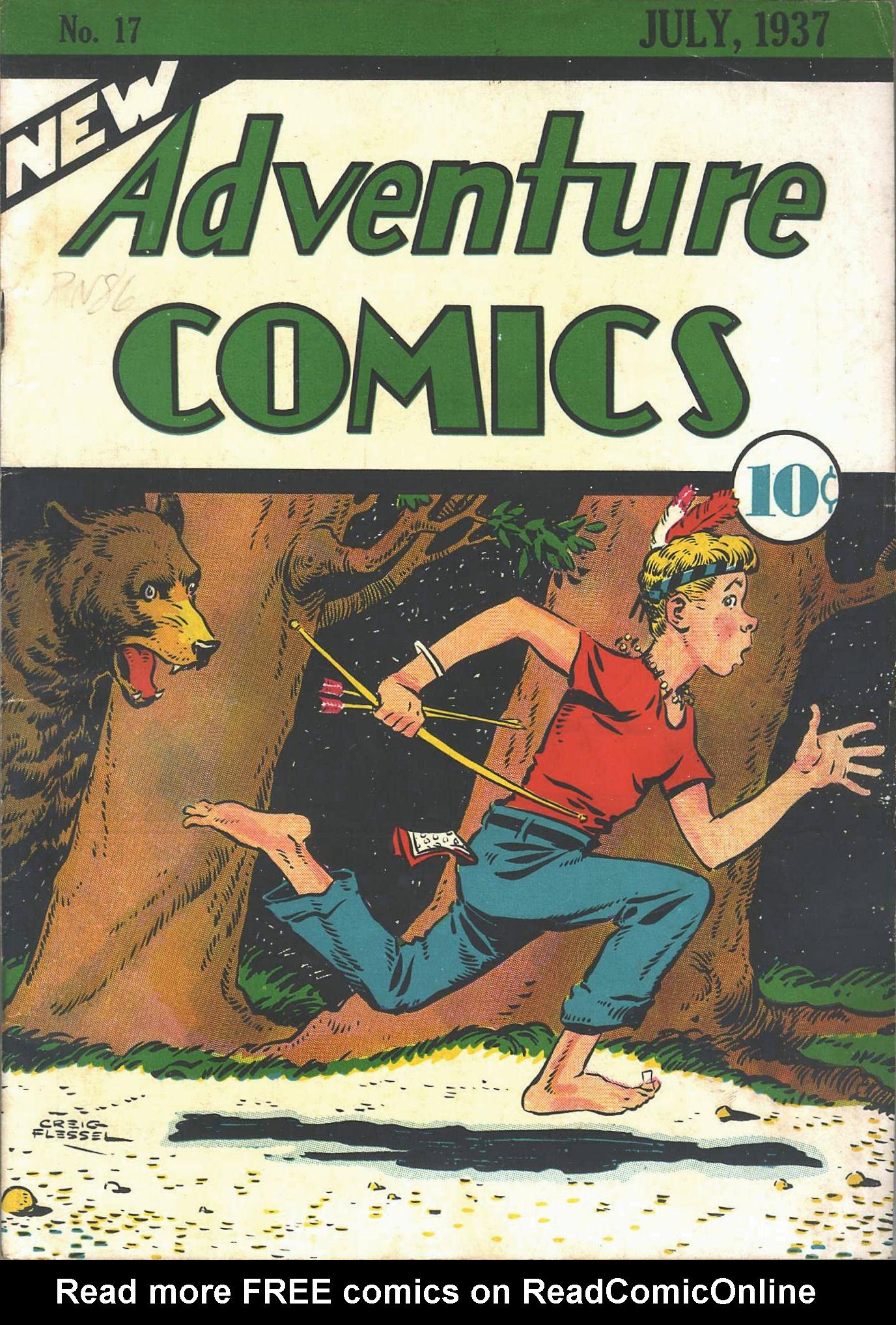 Read online Adventure Comics (1938) comic -  Issue #17 - 2