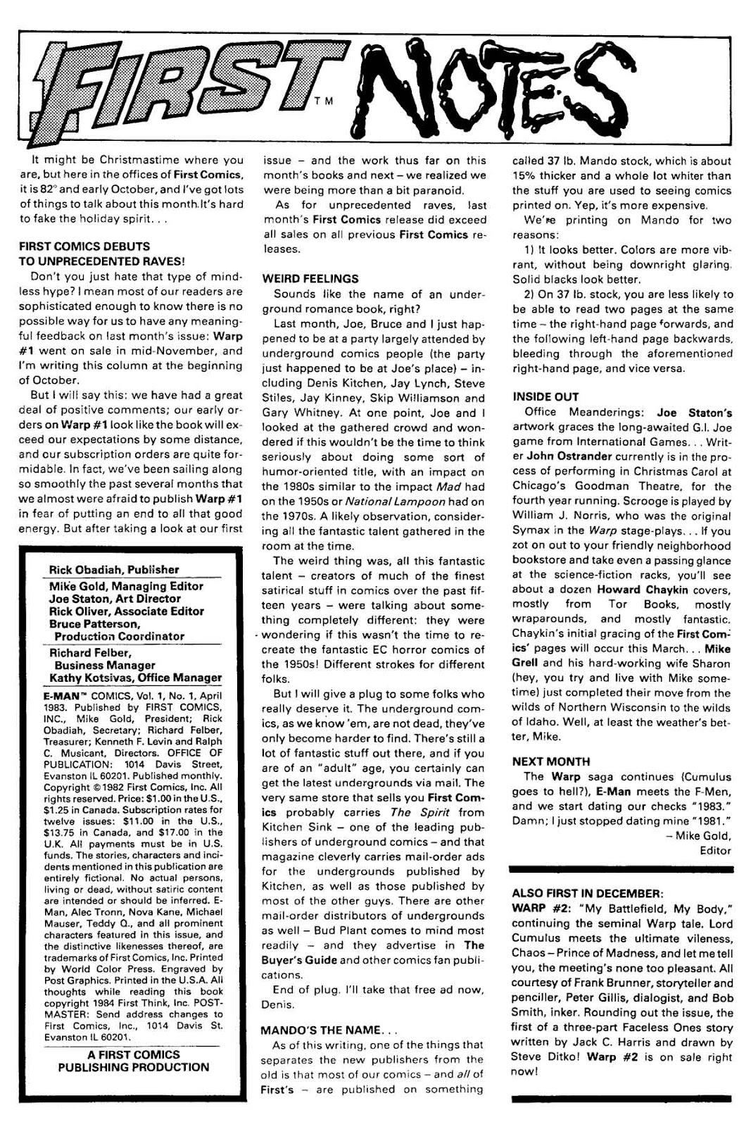 E-Man (1983) 1 Page 2