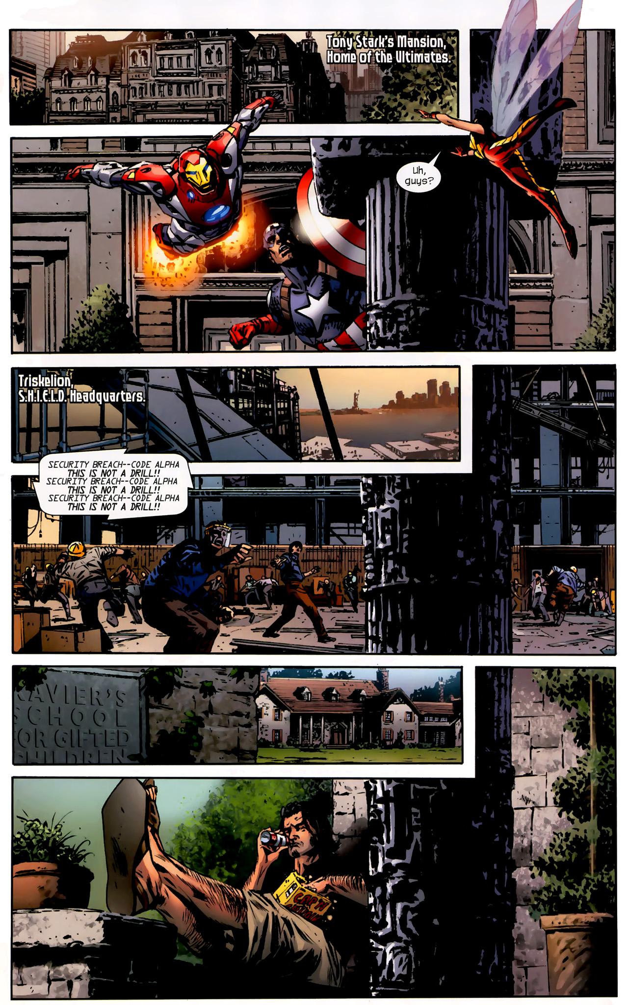 Read online Ultimate Origins comic -  Issue #3 - 5