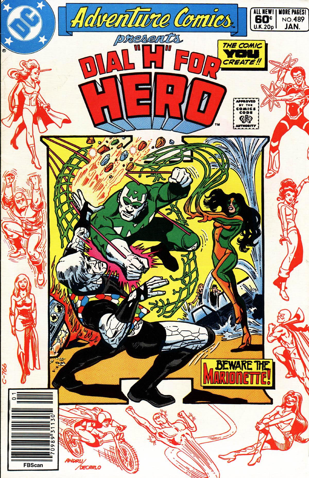 Read online Adventure Comics (1938) comic -  Issue #489 - 1
