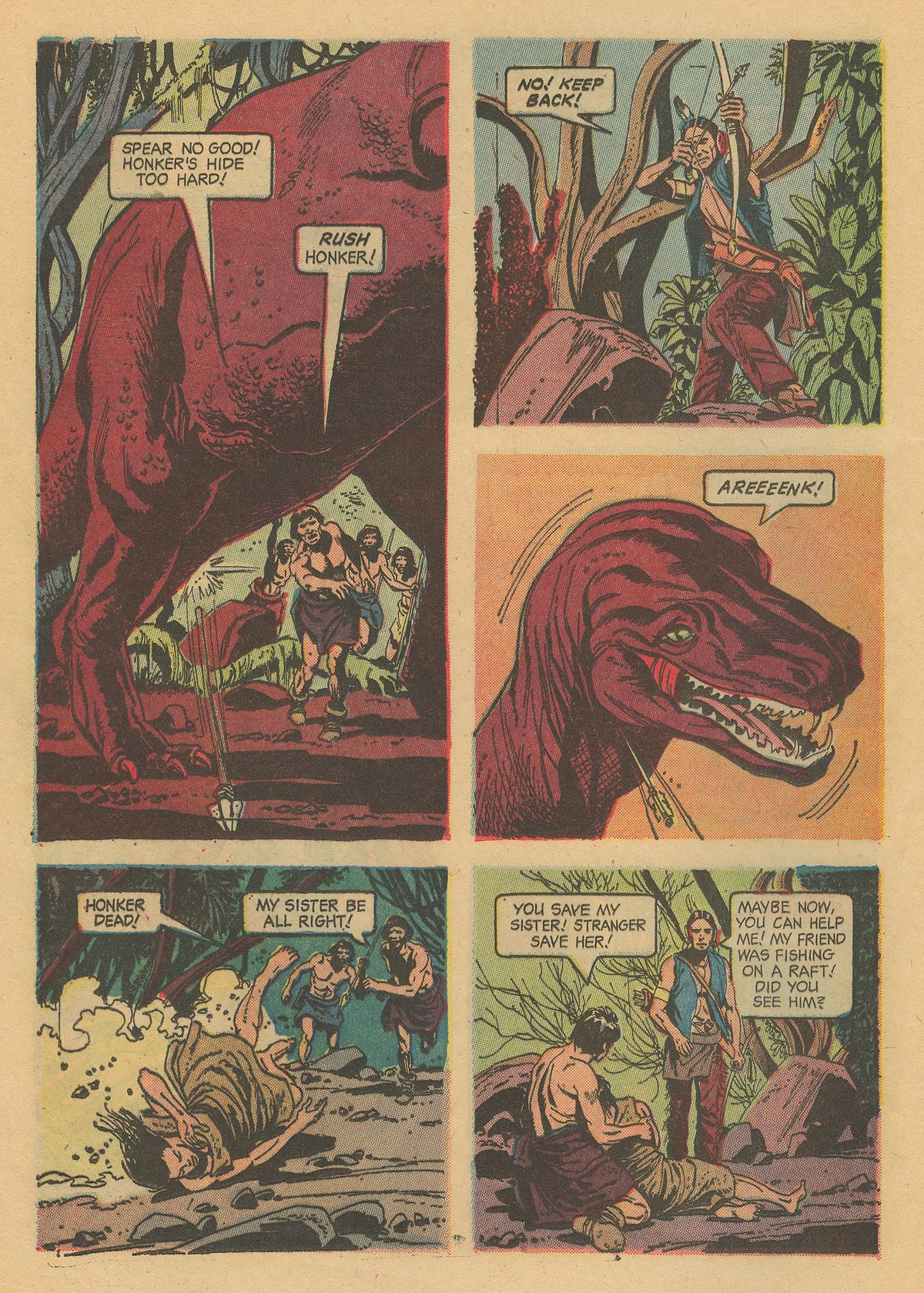 Read online Turok, Son of Stone comic -  Issue #31 - 24