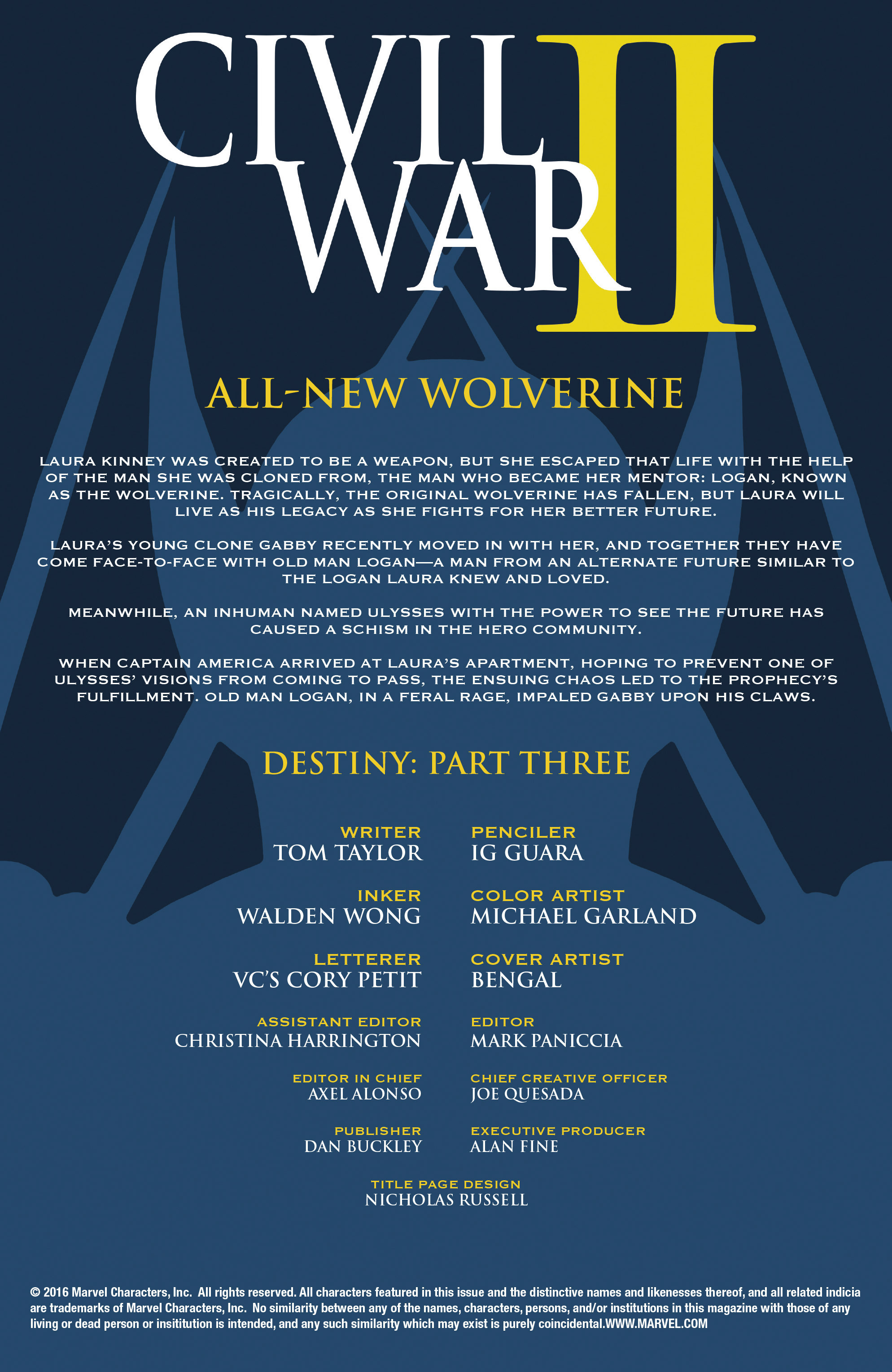 Read online All-New Wolverine (2016) comic -  Issue #12 - 2