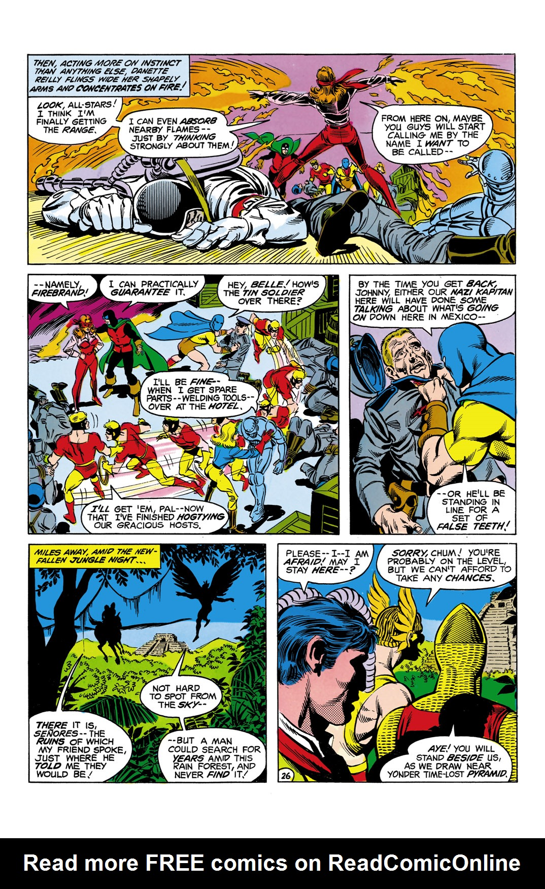 Read online All-Star Squadron comic -  Issue #5 - 27