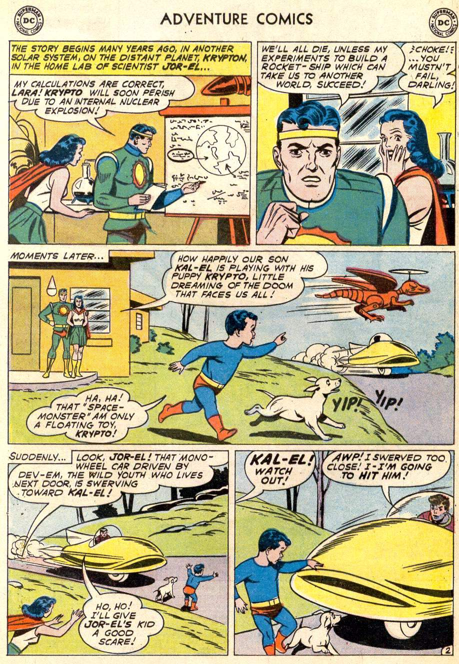 Read online Adventure Comics (1938) comic -  Issue #287 - 4
