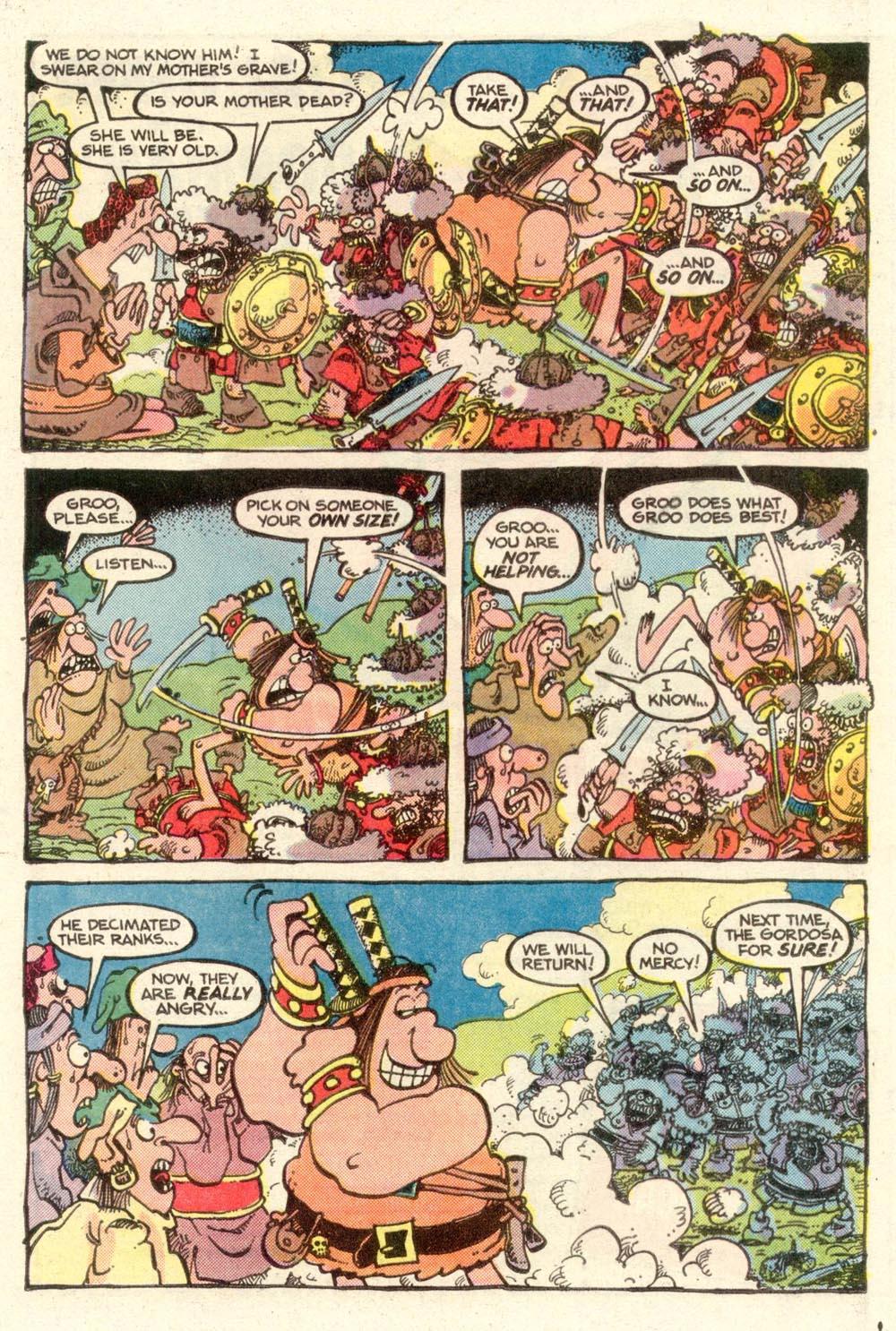 Read online Sergio Aragonés Groo the Wanderer comic -  Issue #11 - 9
