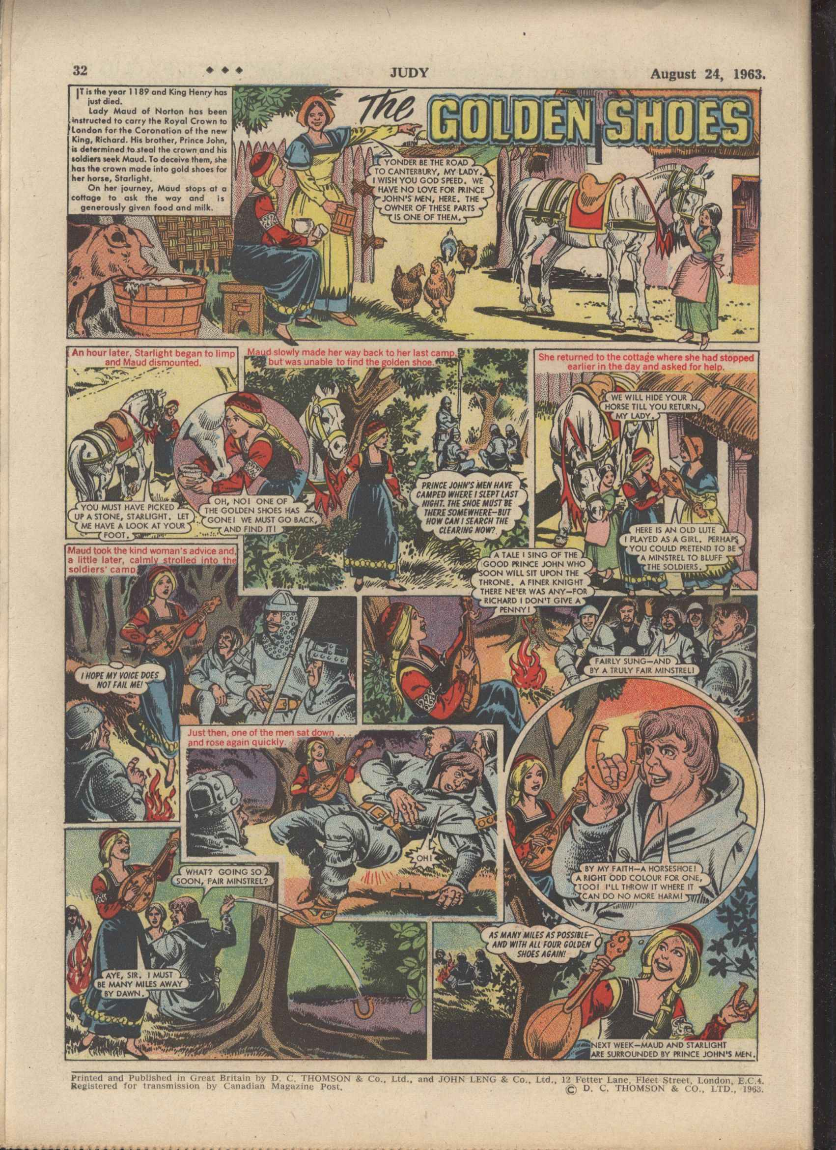 Read online Judy comic -  Issue #189 - 32