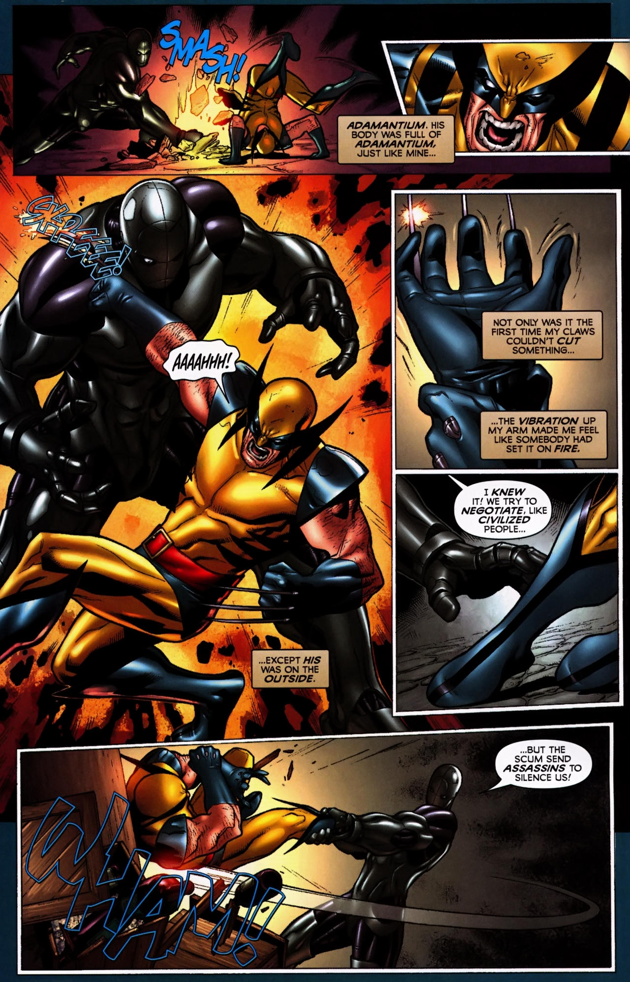 Read online Wolverine: First Class comic -  Issue #5 - 15