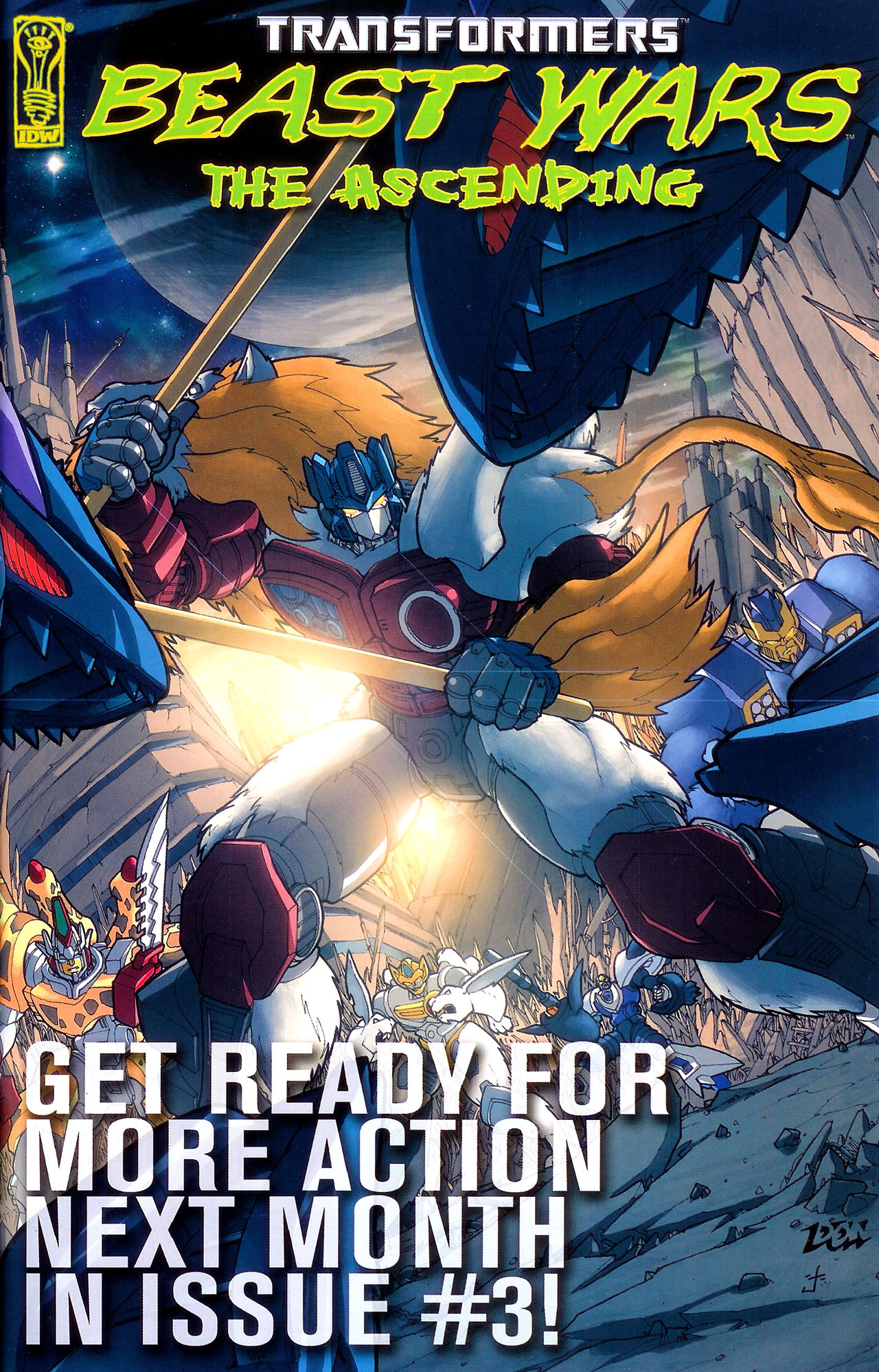 Read online Transformers: Beast Wars: The Ascending comic -  Issue #2 - 26