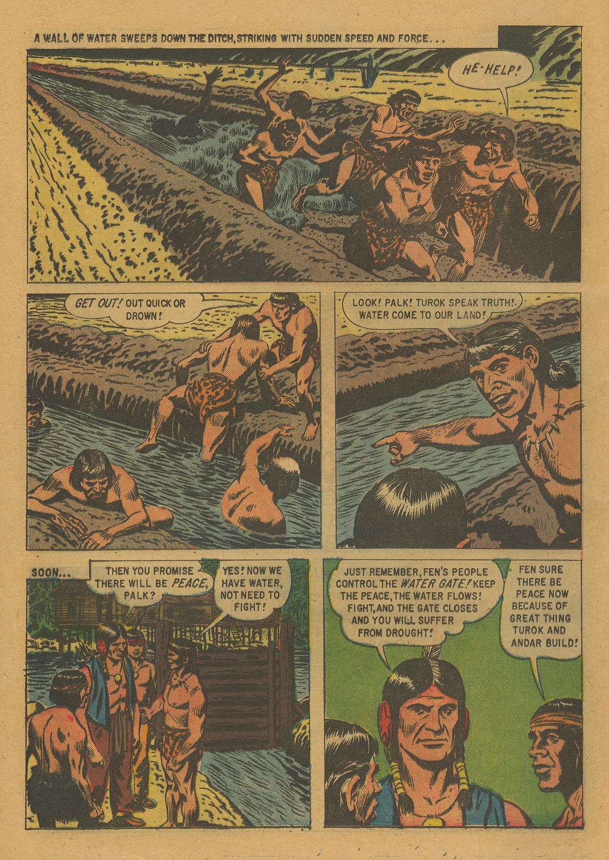 Read online Turok, Son of Stone comic -  Issue #21 - 16