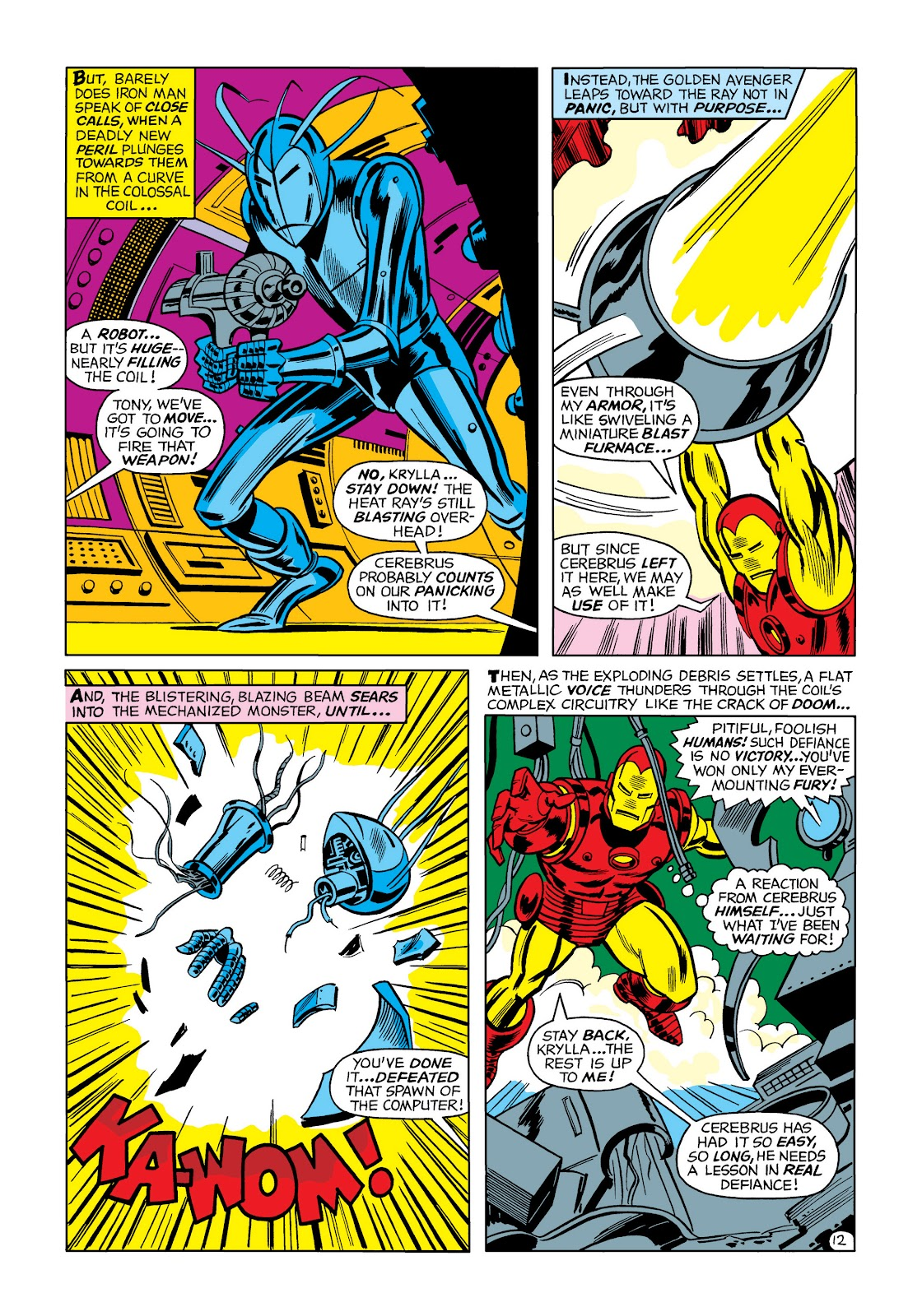 Read online Marvel Masterworks: The Invincible Iron Man comic -  Issue # TPB 5 (Part 1) - 82